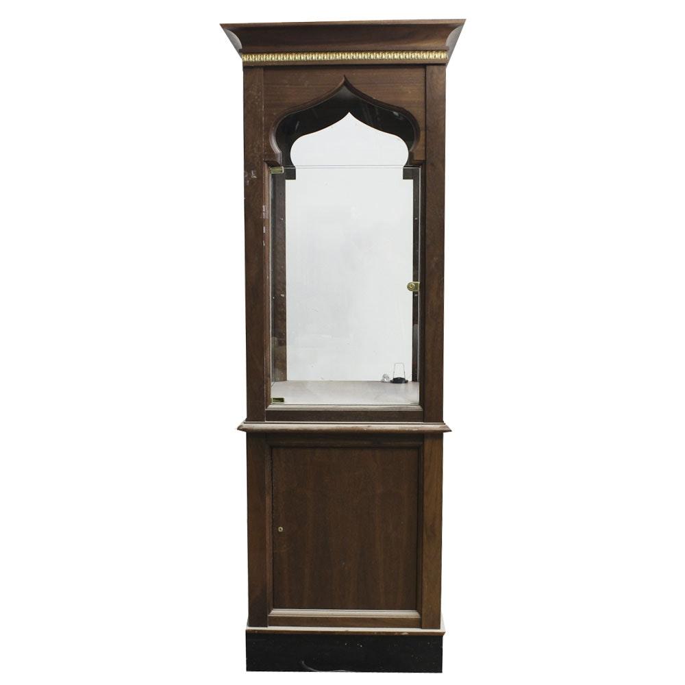 Vintage Illuminated Display Cabinet
