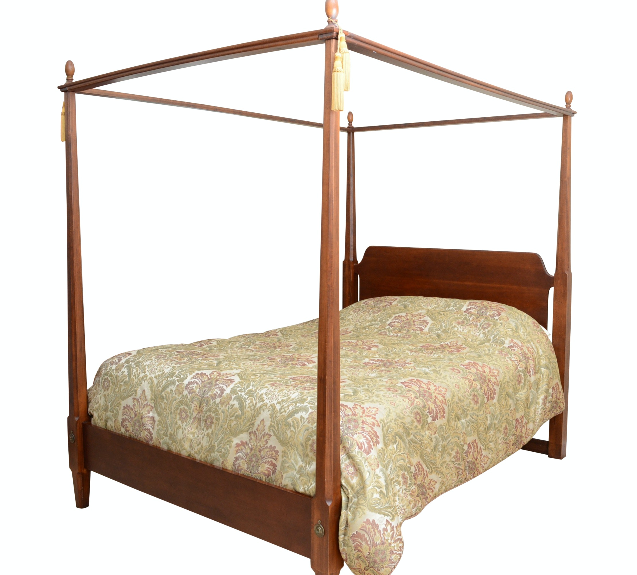 """Canopy Poster Bed """"Queen Size"""""""
