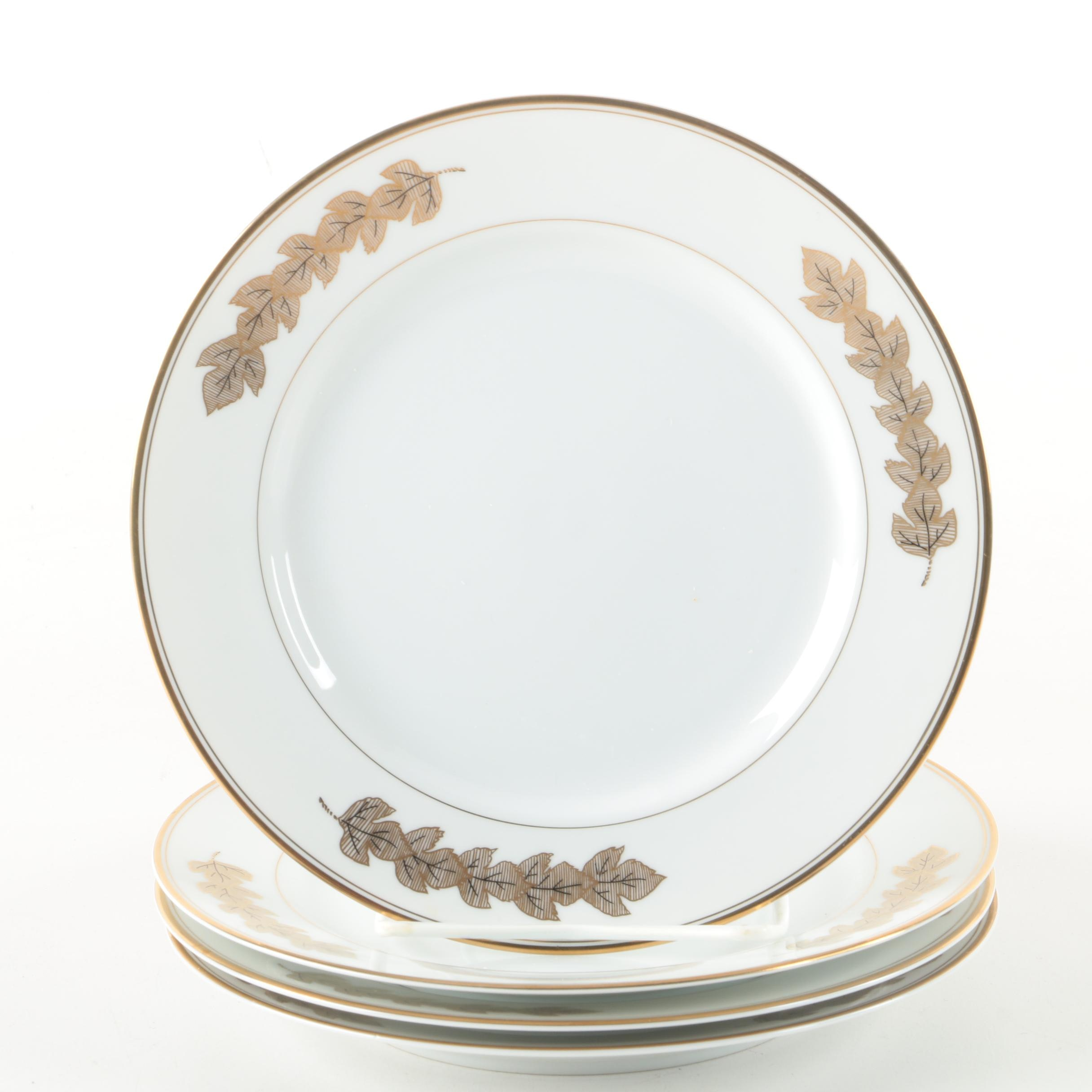"Taitú ""Fogile"" Bone China Salad Plates"