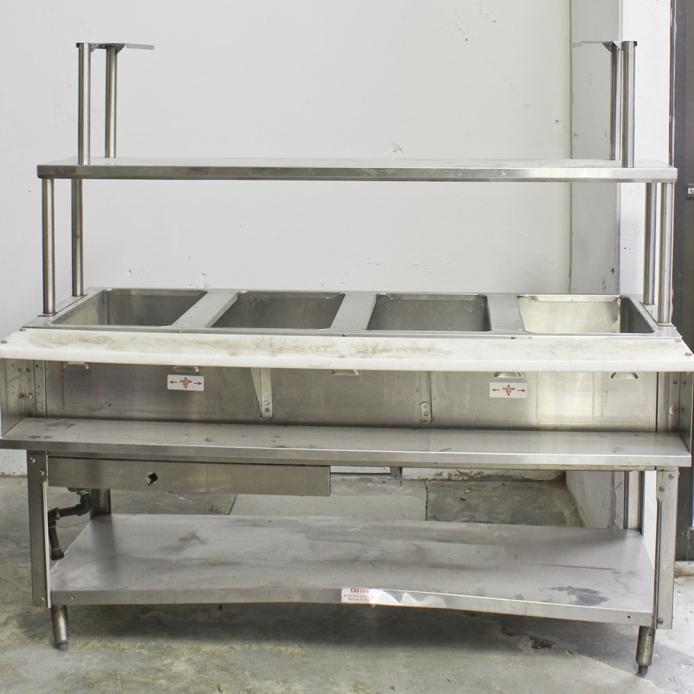 Commercial Gas-Powered Food Warmer