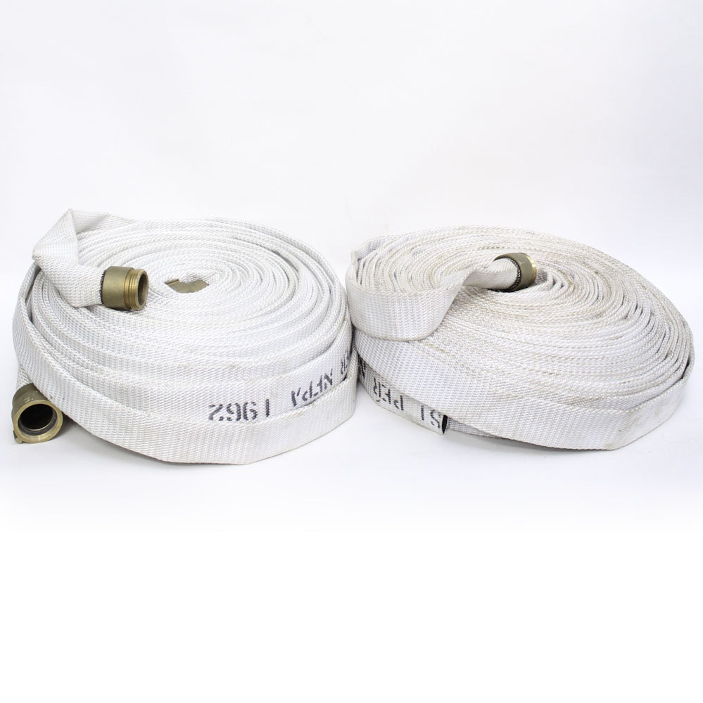 Pair of Fire Hoses
