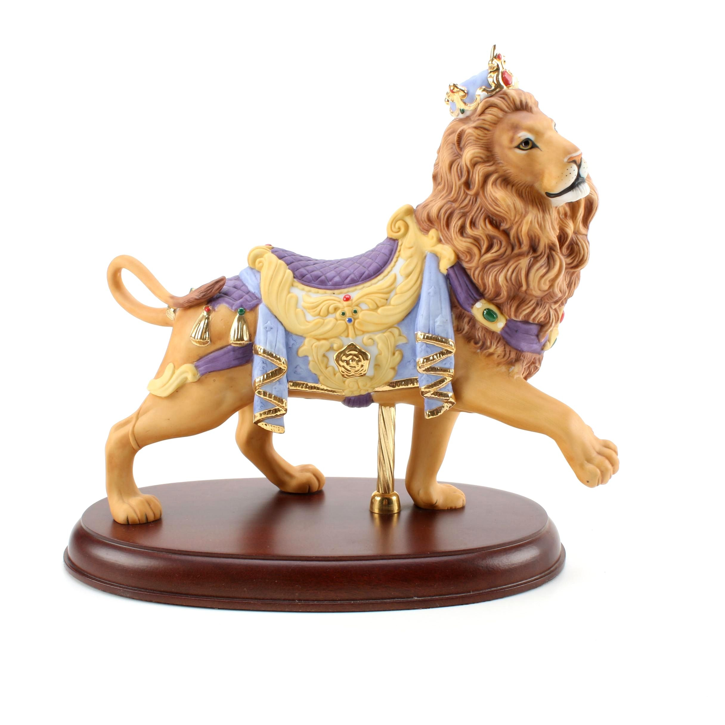 Lenox Carousel Lion Figurine