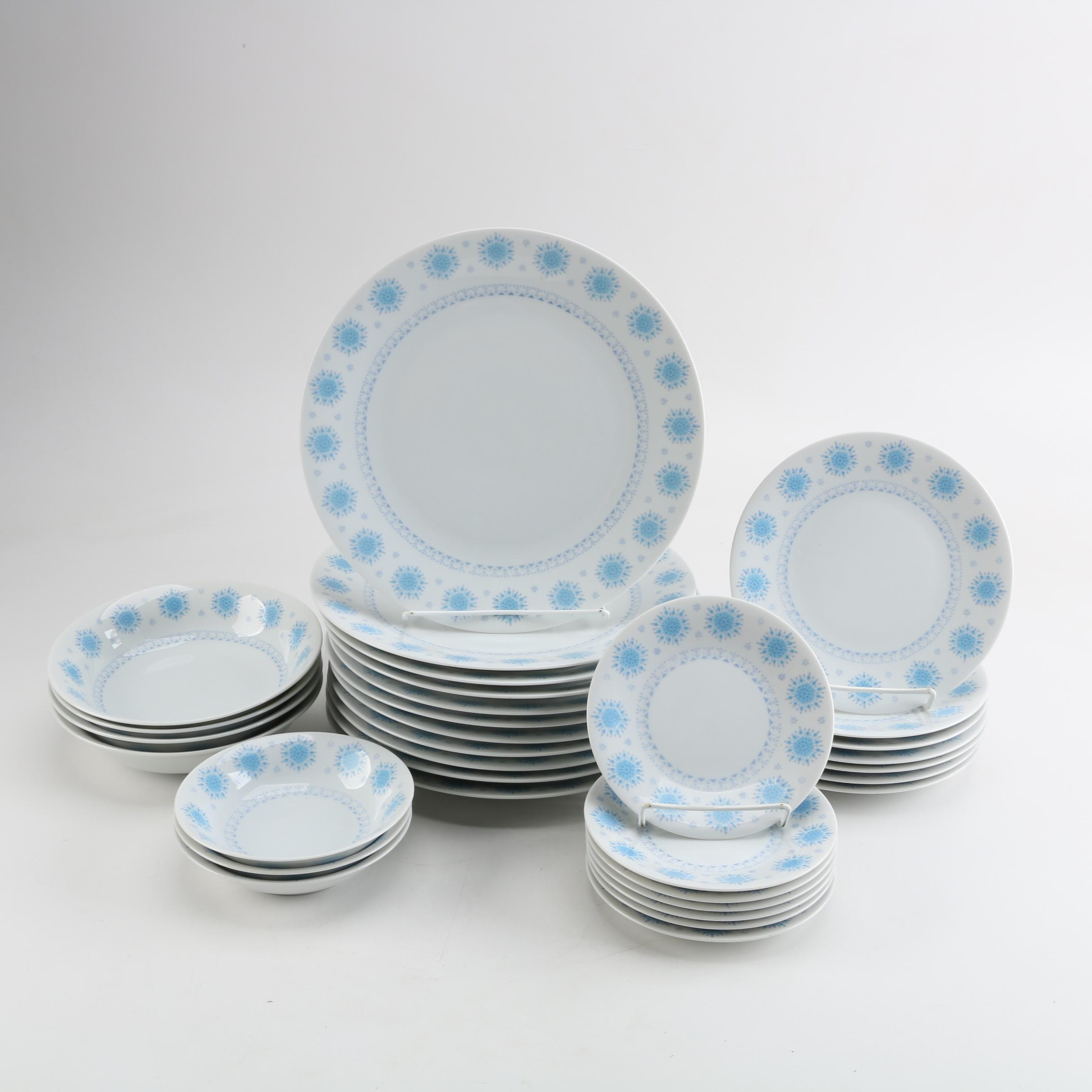 "Harmony House ""Blue Snowflake"" Tableware"