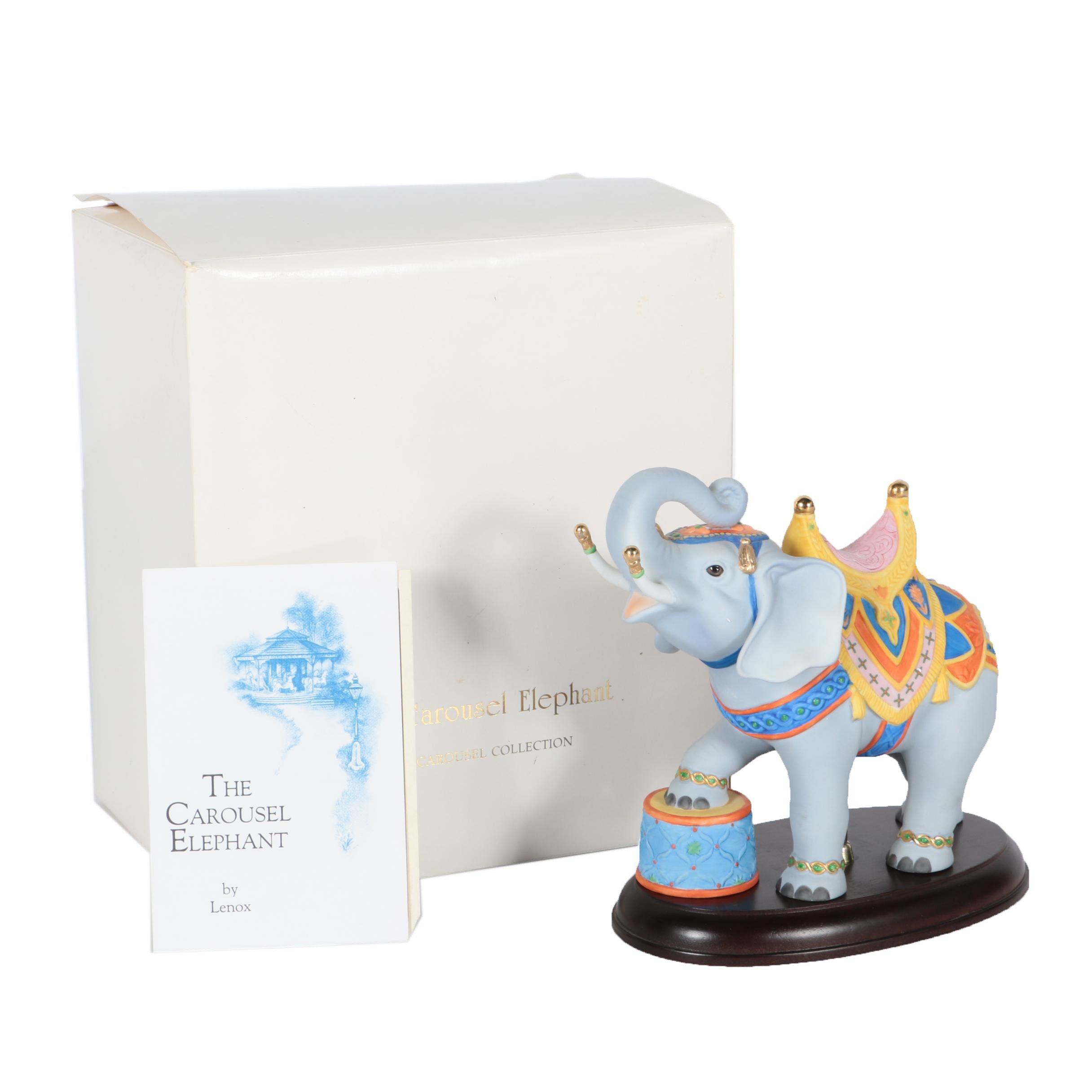 "Lenox ""The Carousel Elephant"" Figurine"