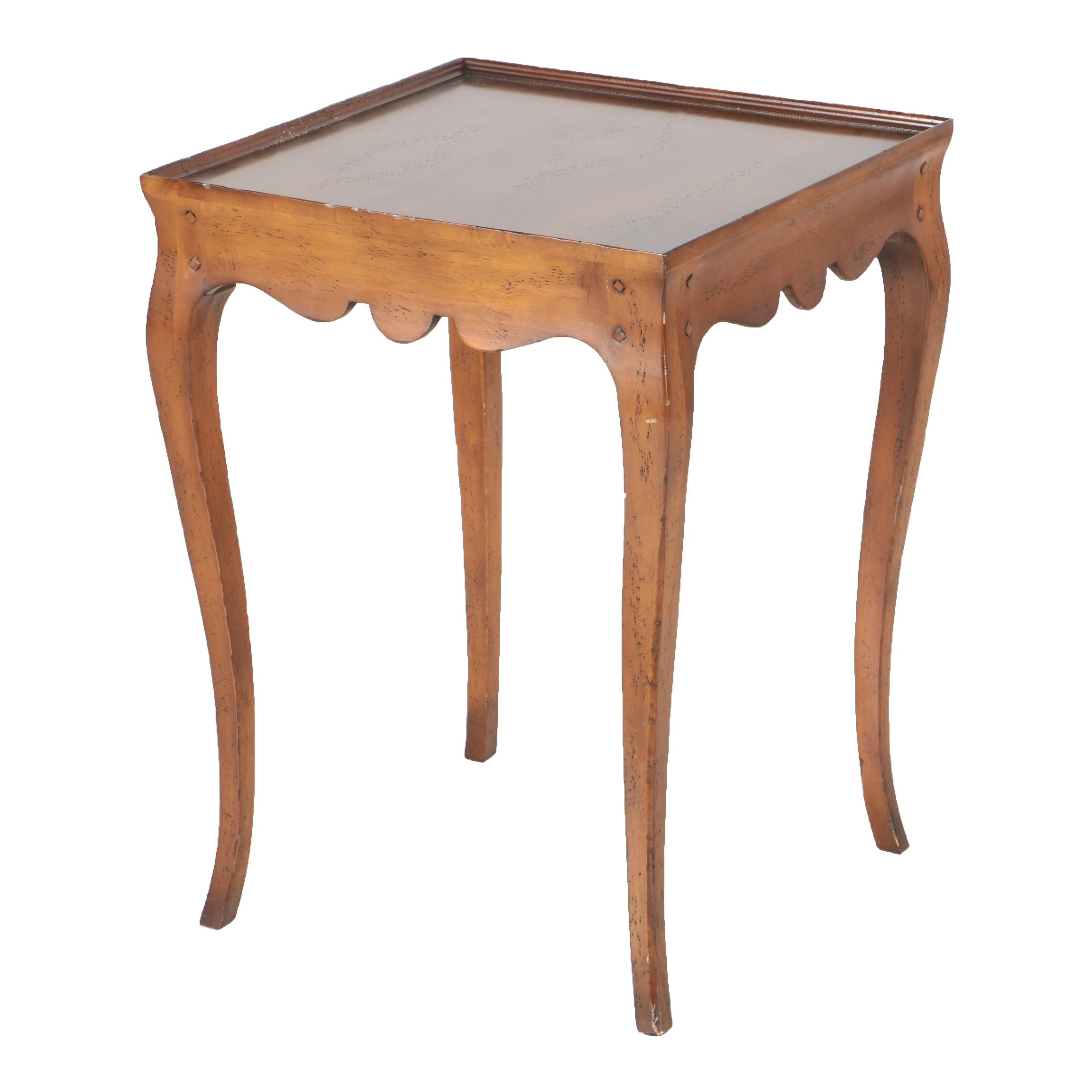 Vintage Louis XV Style Side Table by Milling Road of Baker Furniture