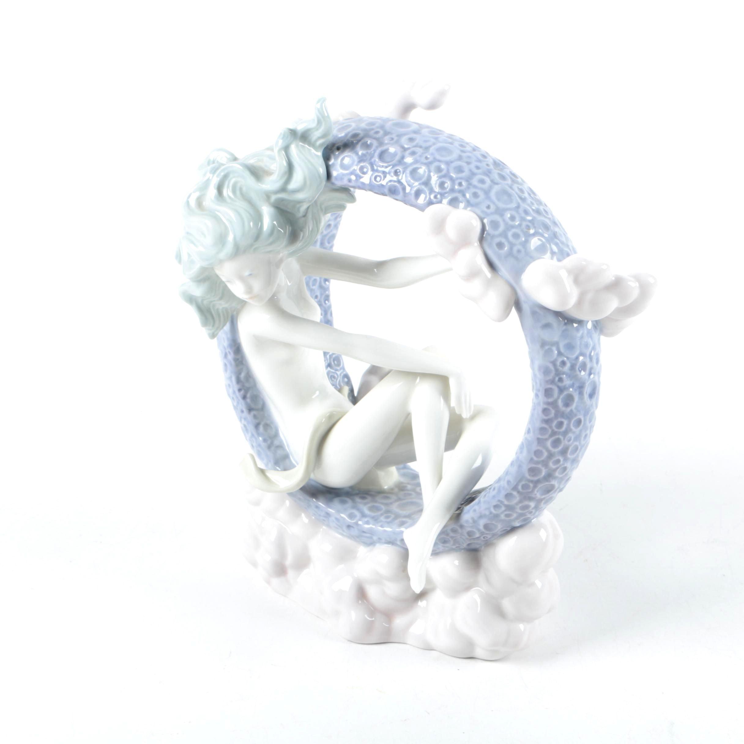 """Lladro """"Full Moon"""" Figurine"""