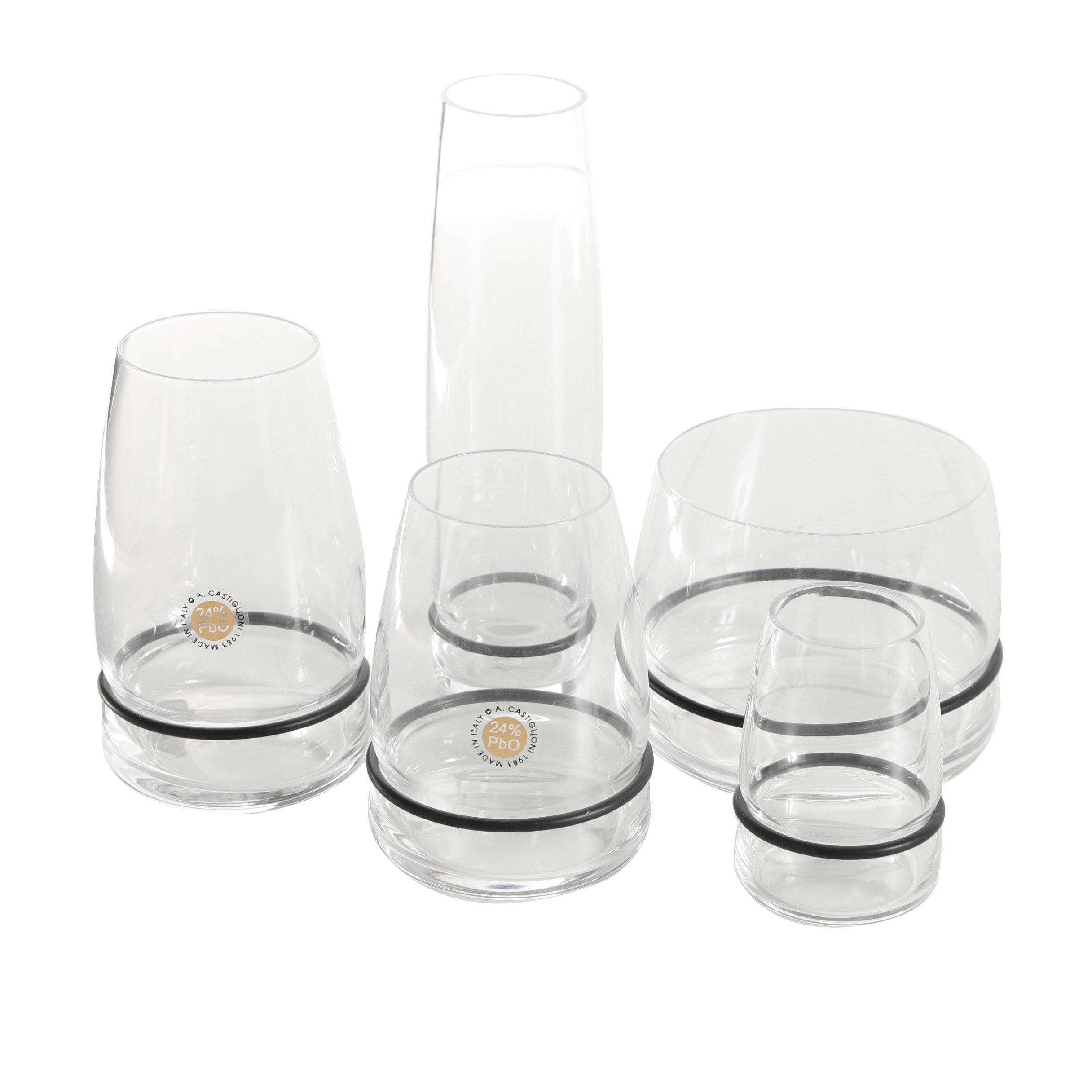 """Achille Castiglioni """"Ovio"""" Series Glassware"""