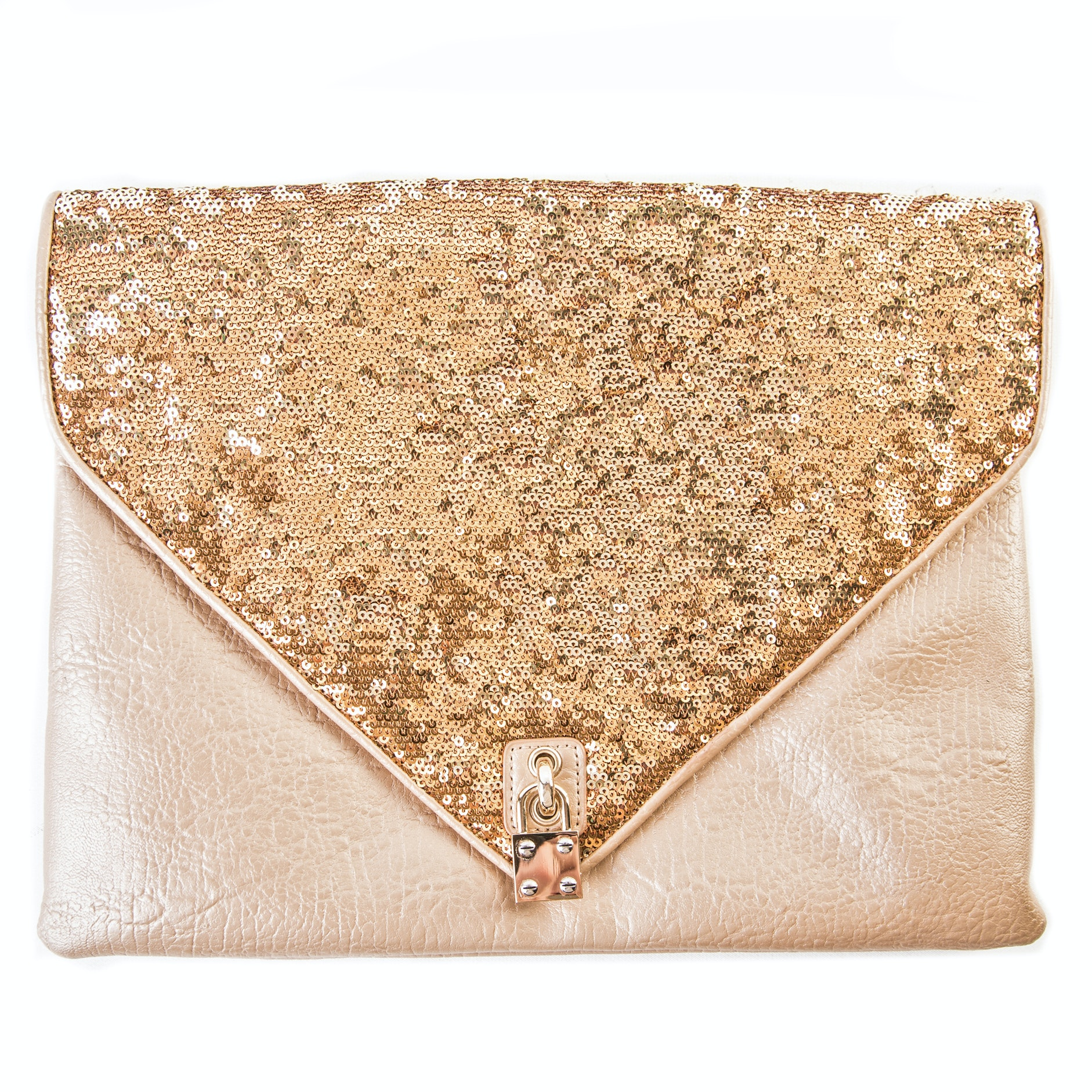 Alexis Hudson Ciara Leather Envelope Clutch