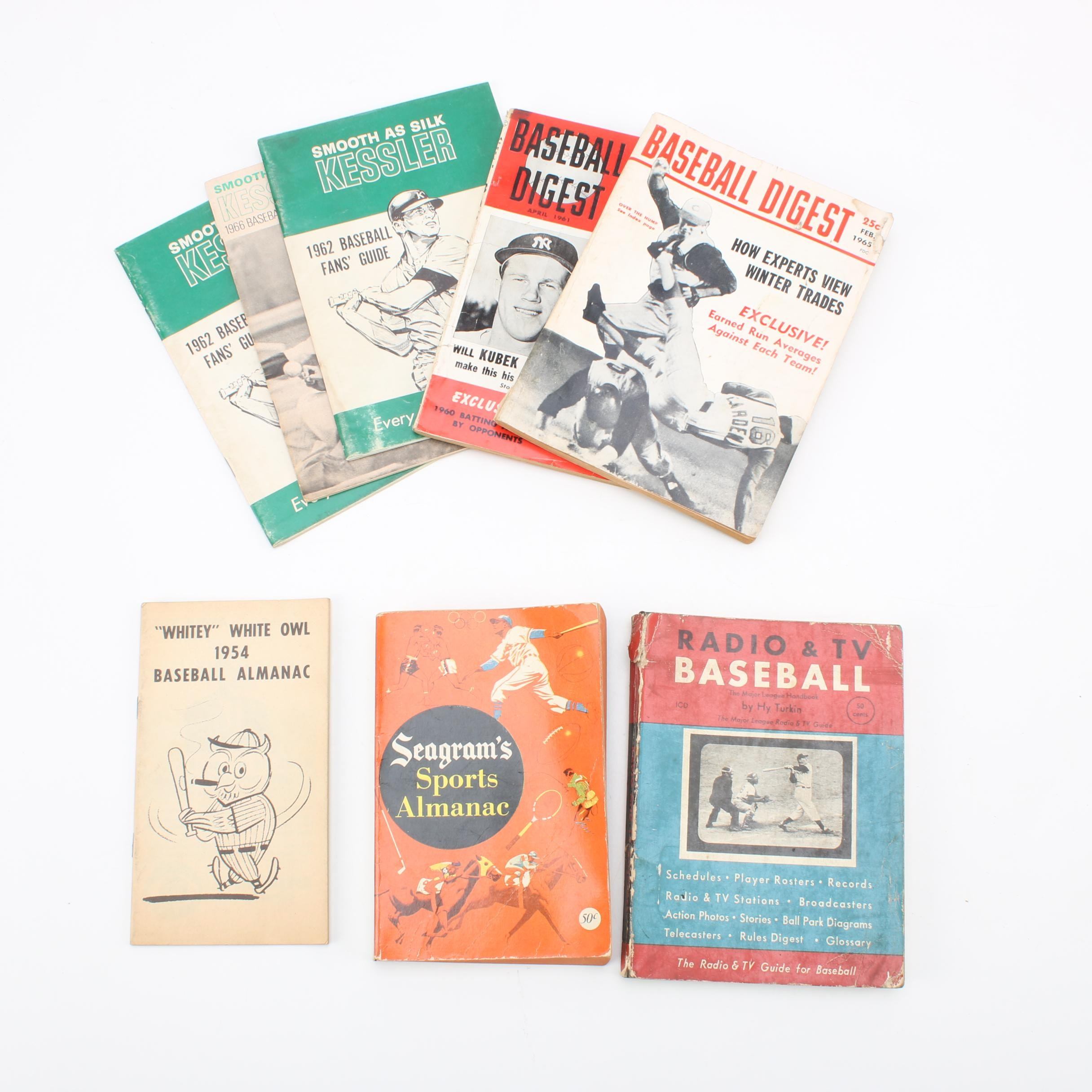 1960s Baseball Magazines and Guides