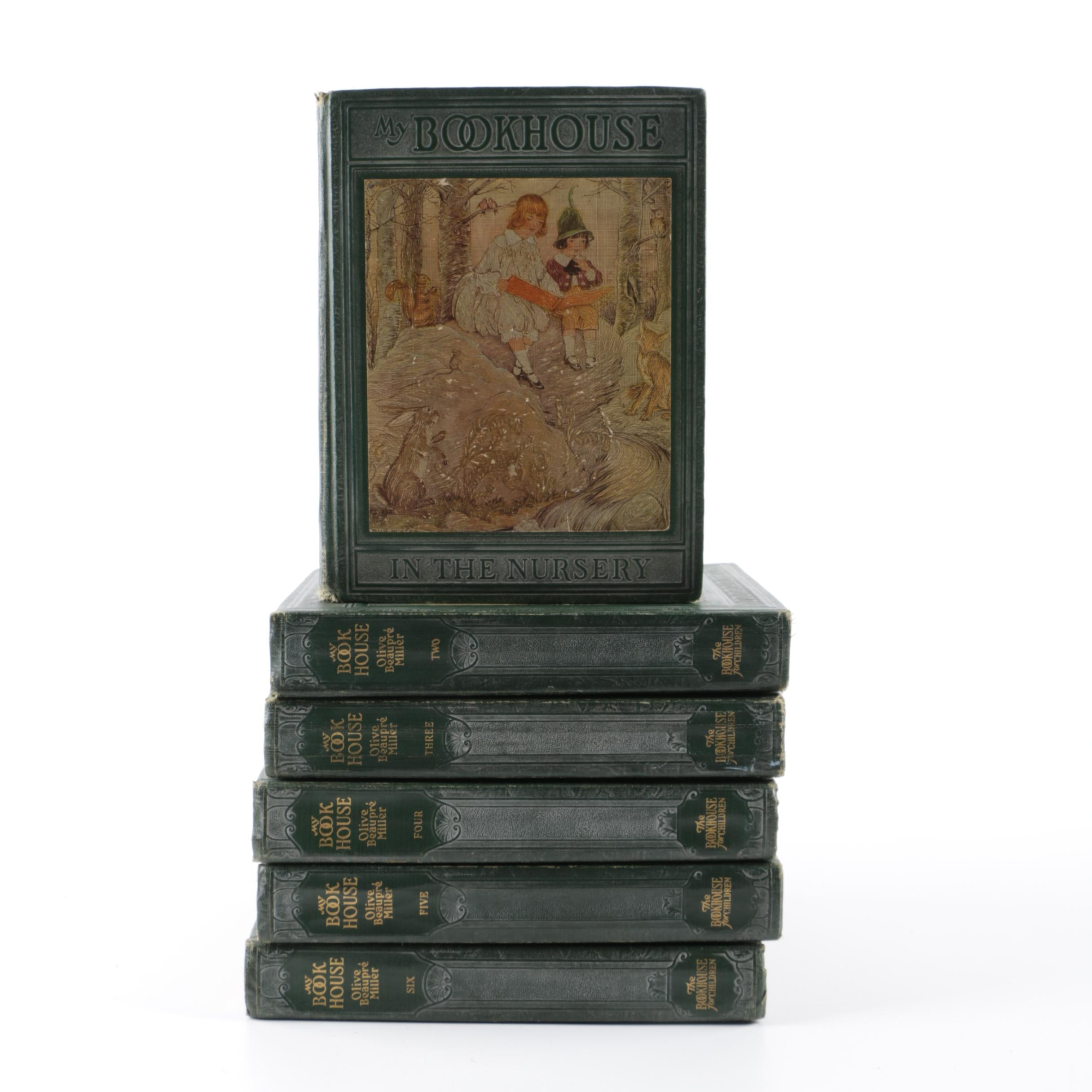 "1920s ""My Bookhouse"" Six-Volume Children's Book Set"