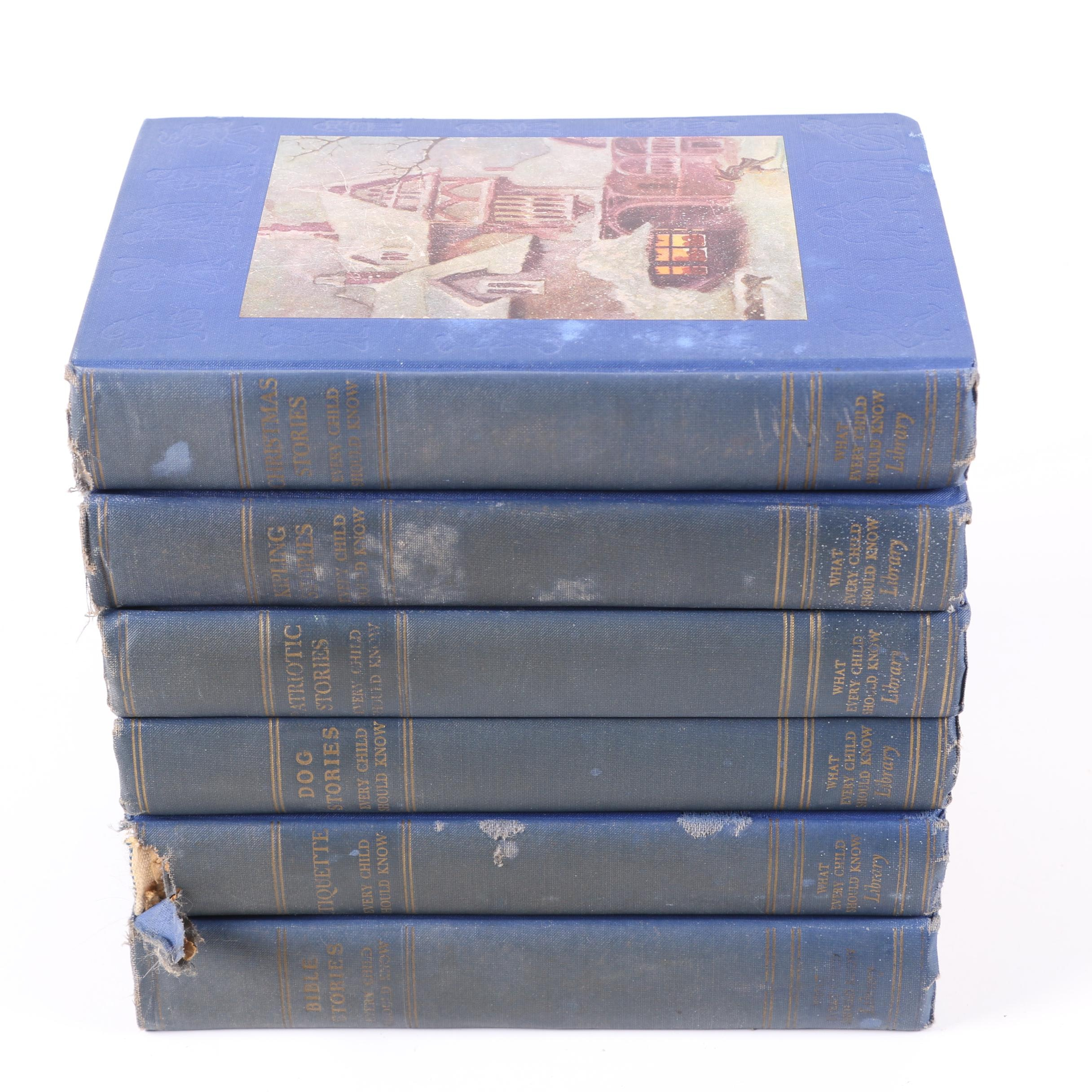 "1930s-Era ""What Every Child Should Know Library"" Volumes"