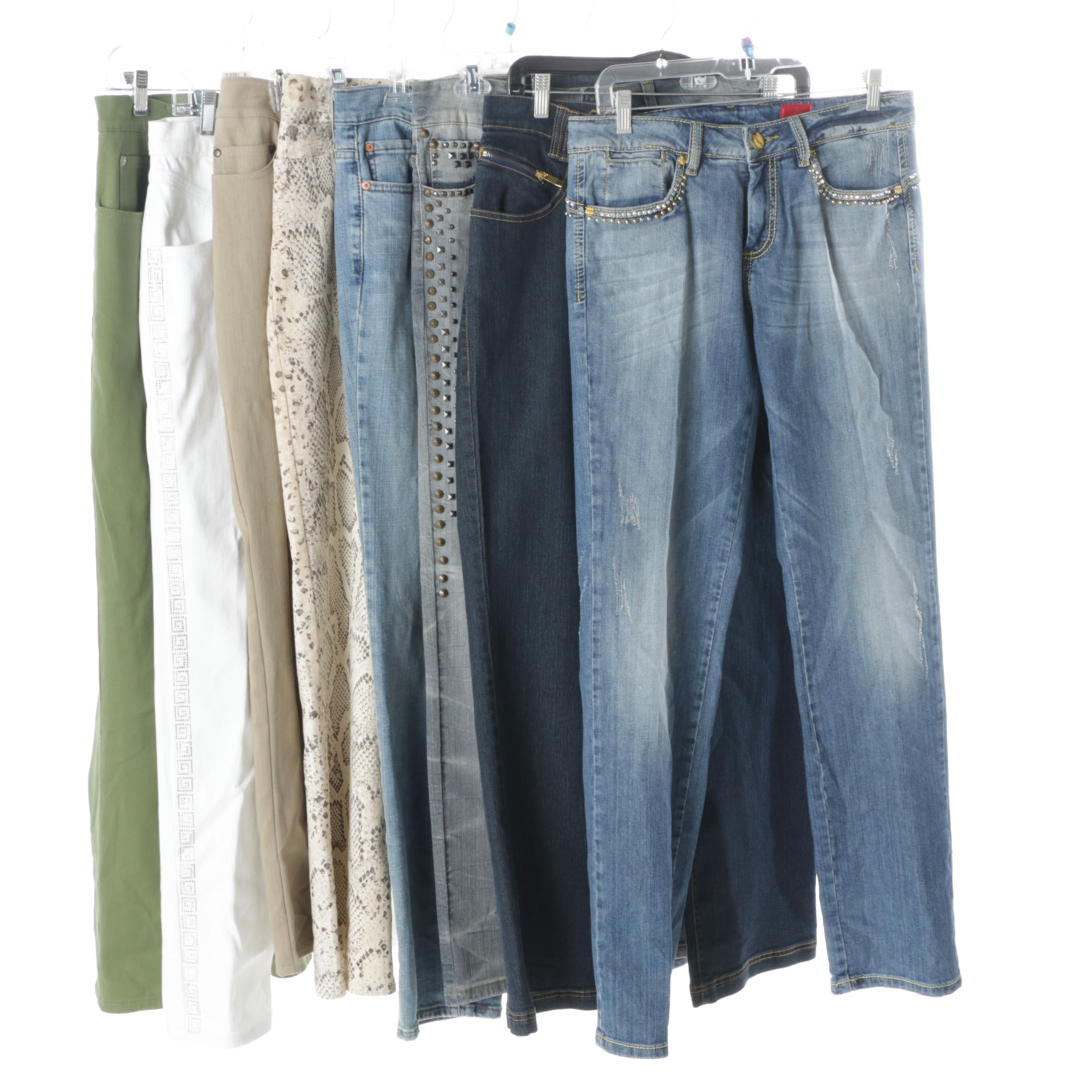 Women's Jeans Including V Cristina, Levi's and Cherokee