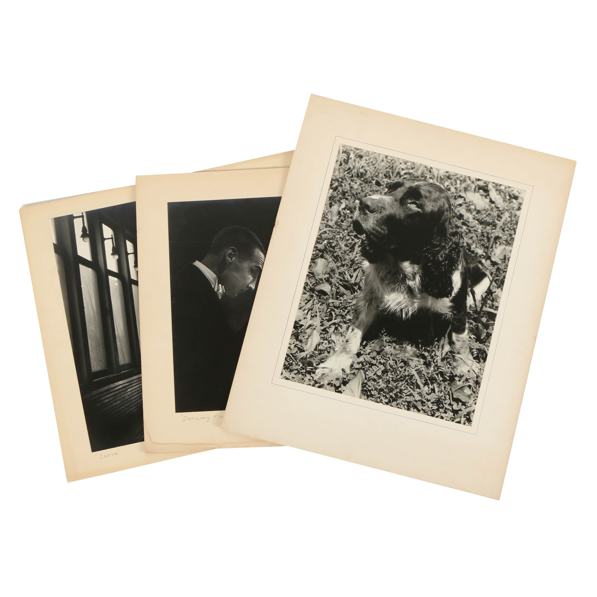"""Don Dover Silver Gelatin Photograph """"Dancing Fingers"""" and More"""