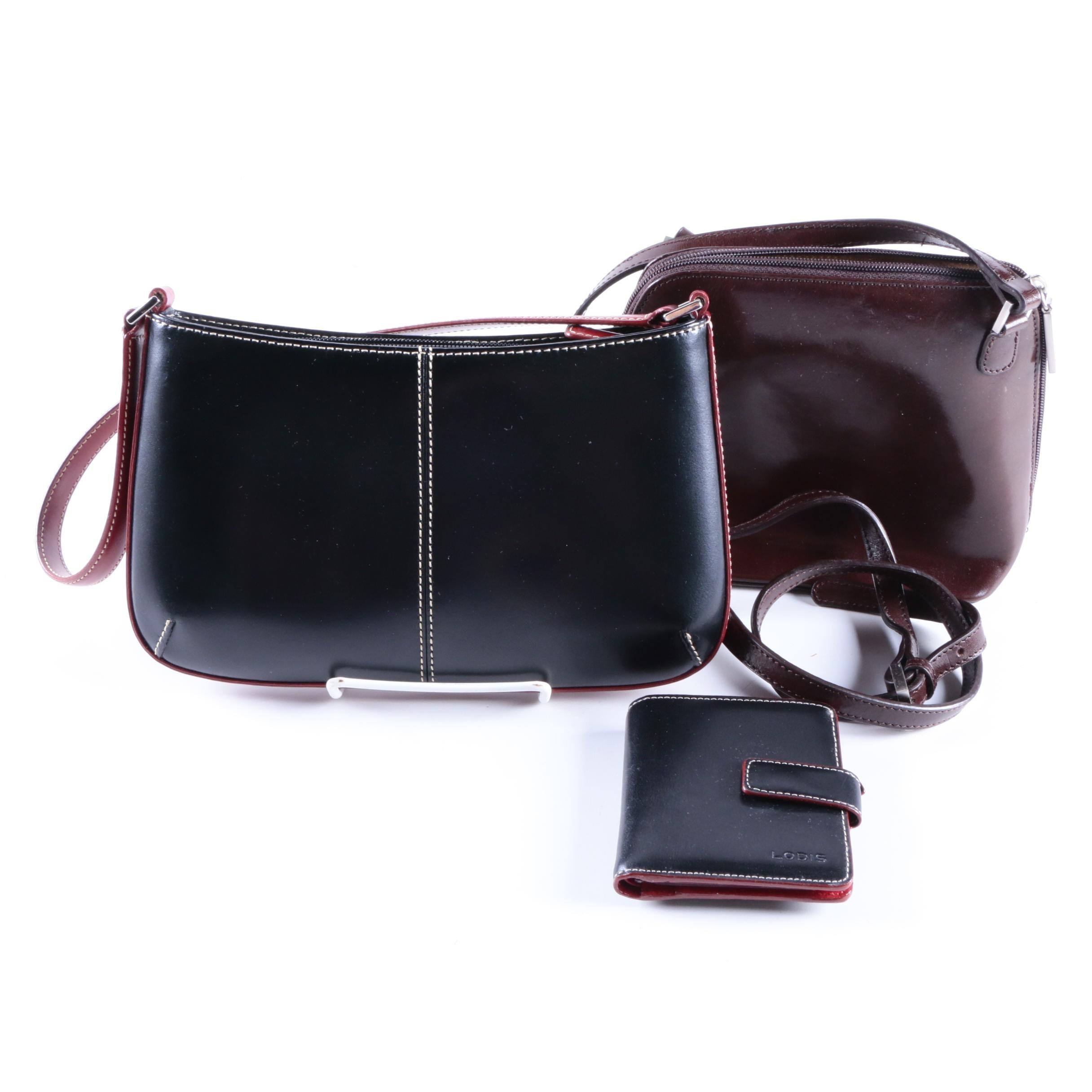 Leather Handbags Including Hobo International