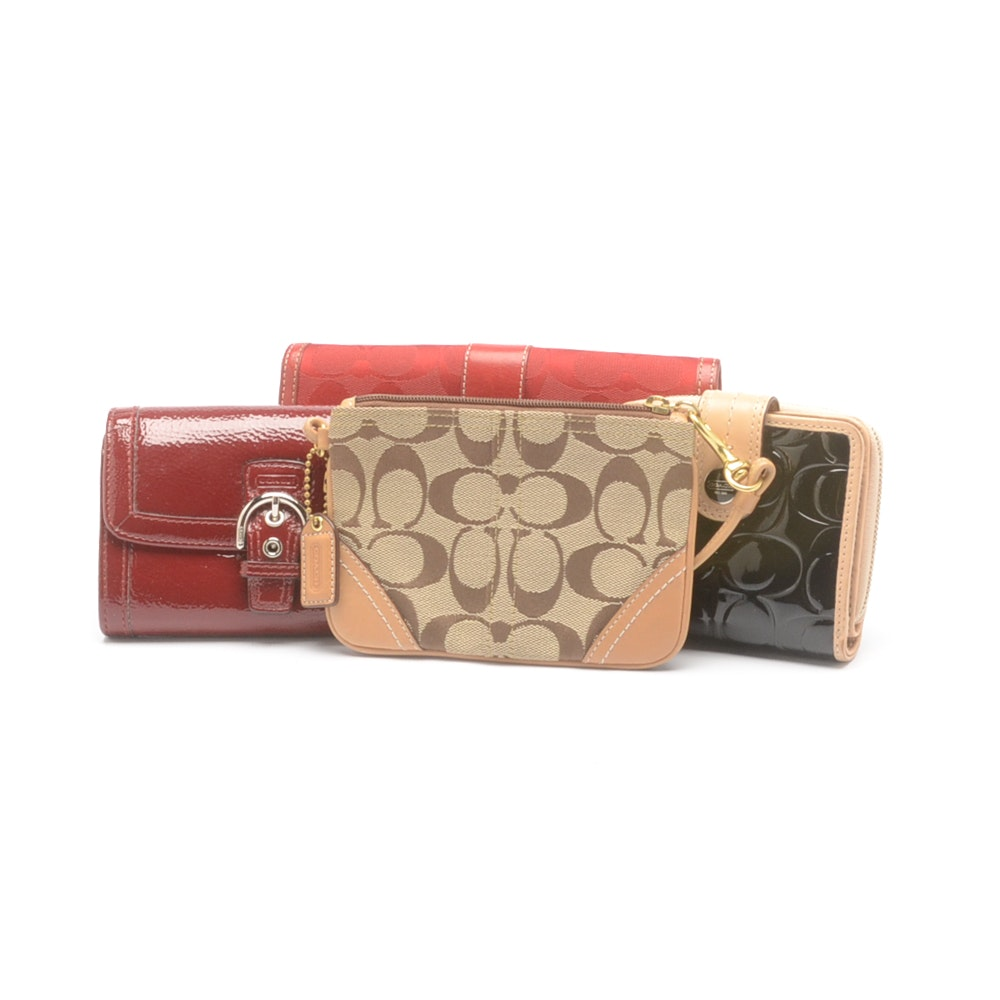 Coach Wallet Group