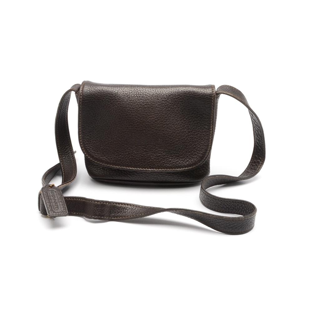 Vintage Coach Sonoma Pebbled Leather Handbag