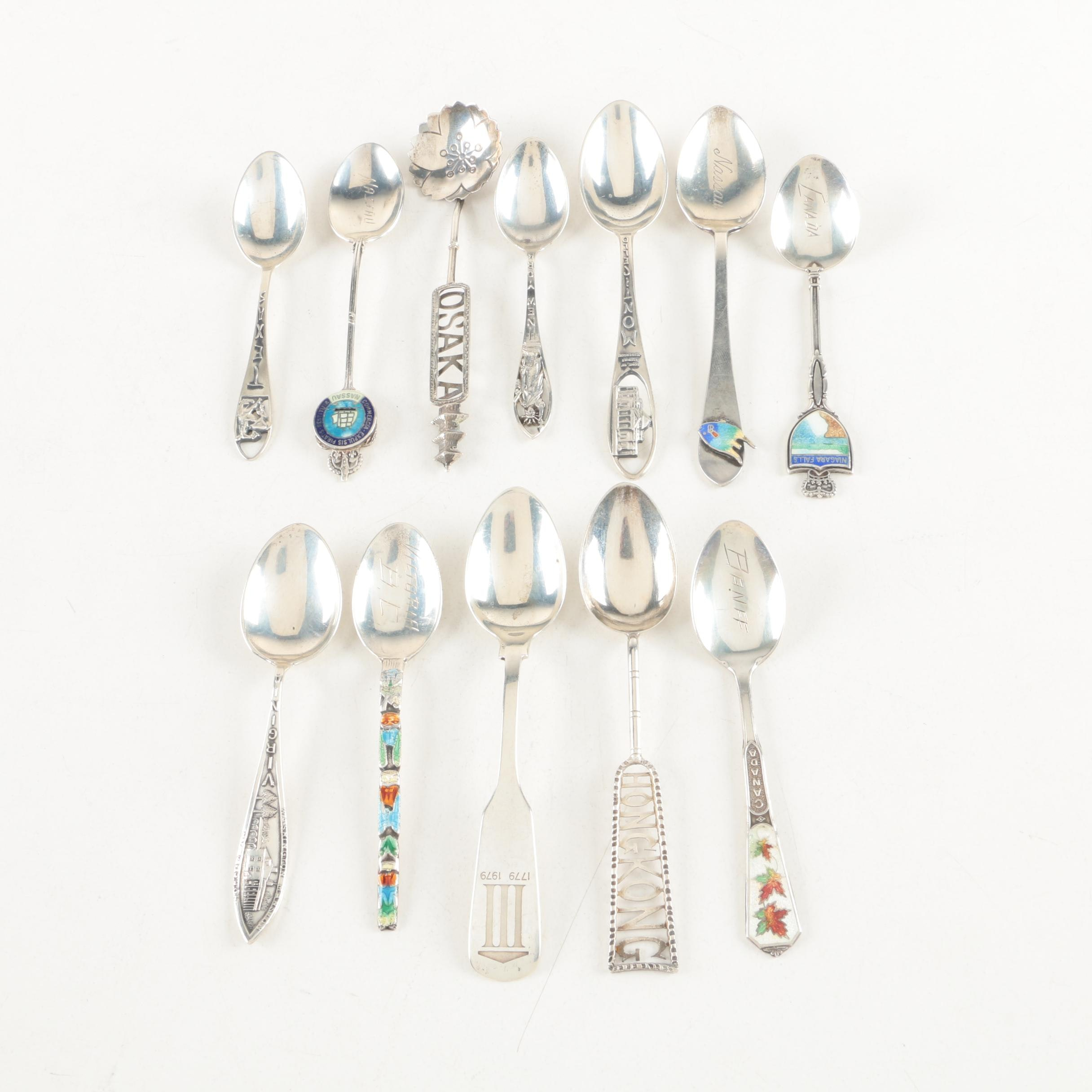 Gorham and Other Sterling Silver Souvenir Spoons