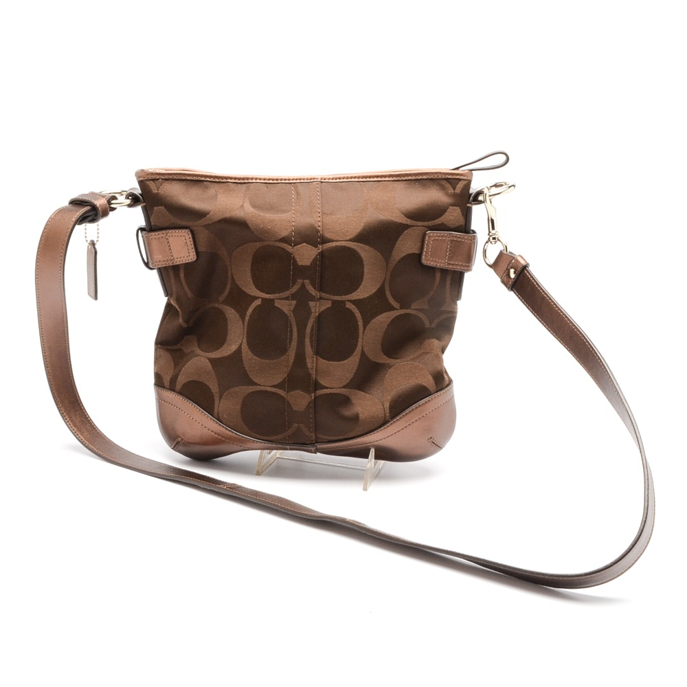 Coach Signature C Chain Crossbody Handbag