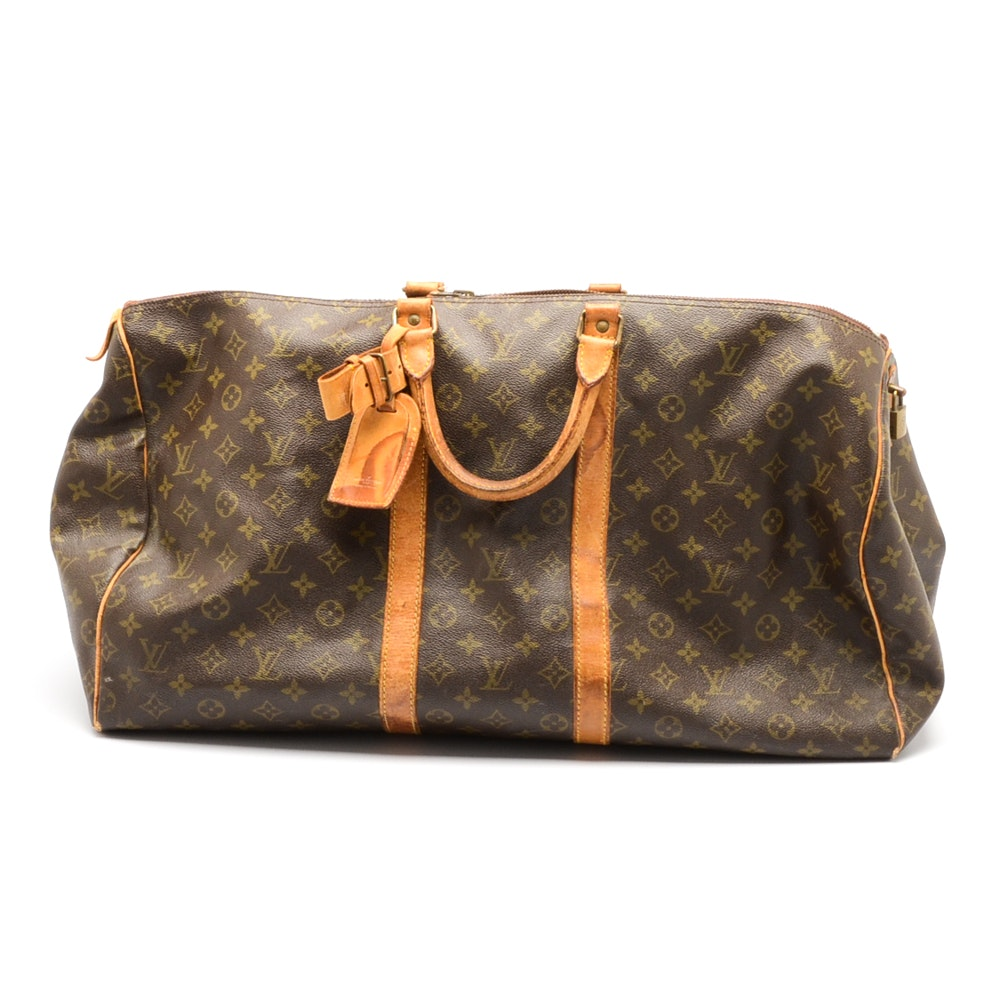 Vintage Louis Vuitton Monogram Keepall Duffle Bag