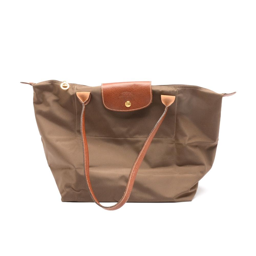 Longchamp Le Pliage Shopping Tote Handbag