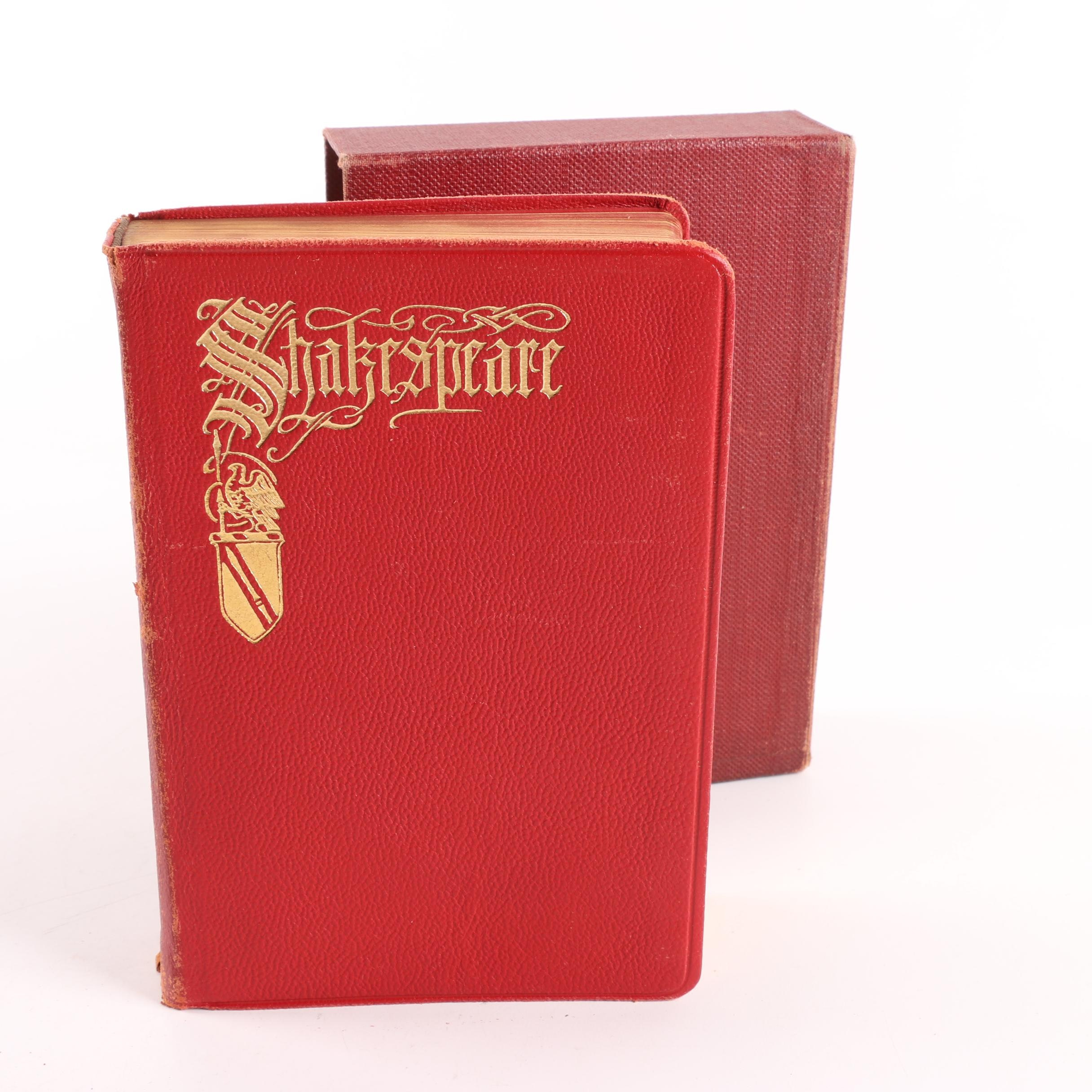 "1926 ""The Complete Dramatic and Poetic Works of William Shakespeare"""