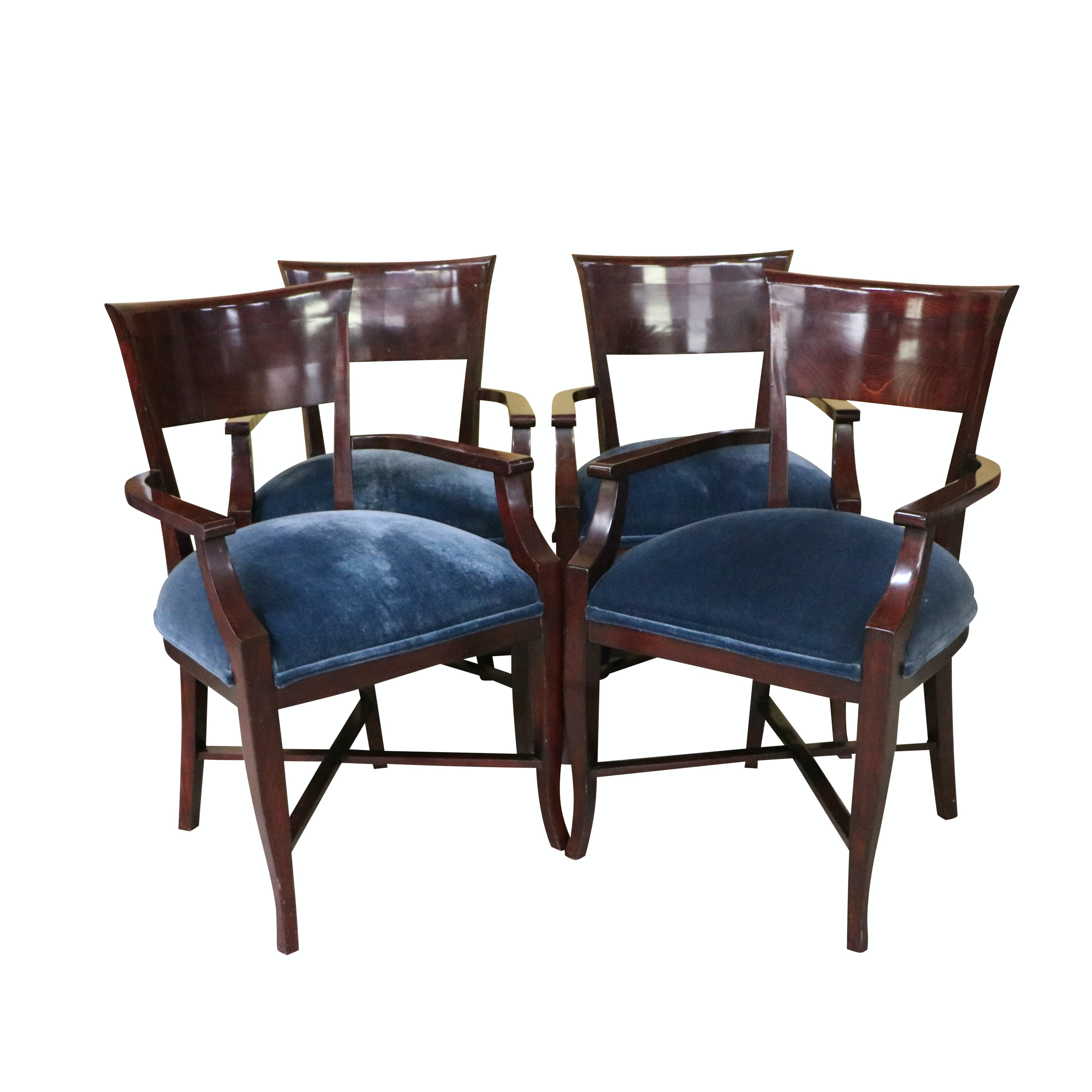 Vintage Federal Style Armchairs