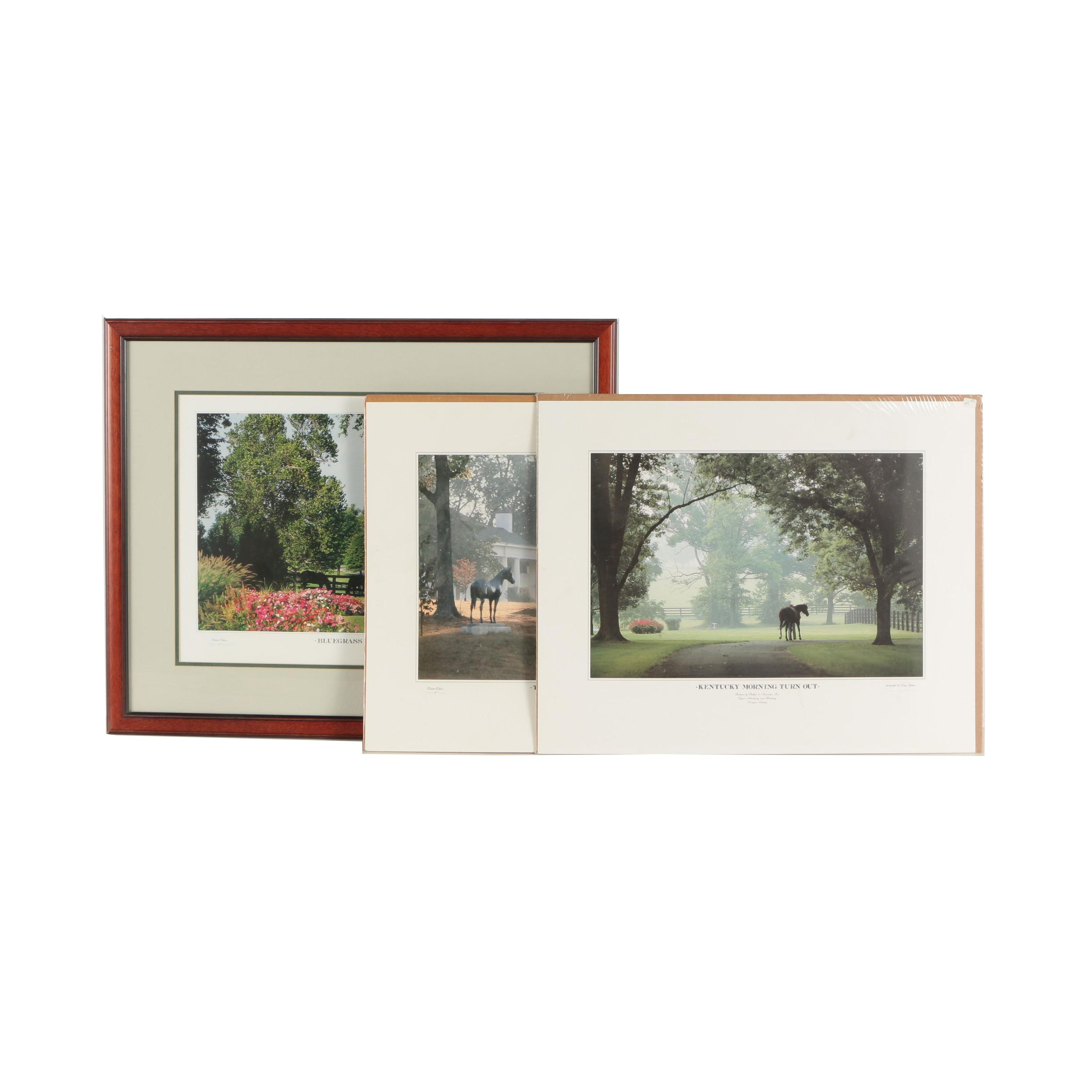 Doug Prather Limited Edition Offset Lithographs of Kentucky and Horses