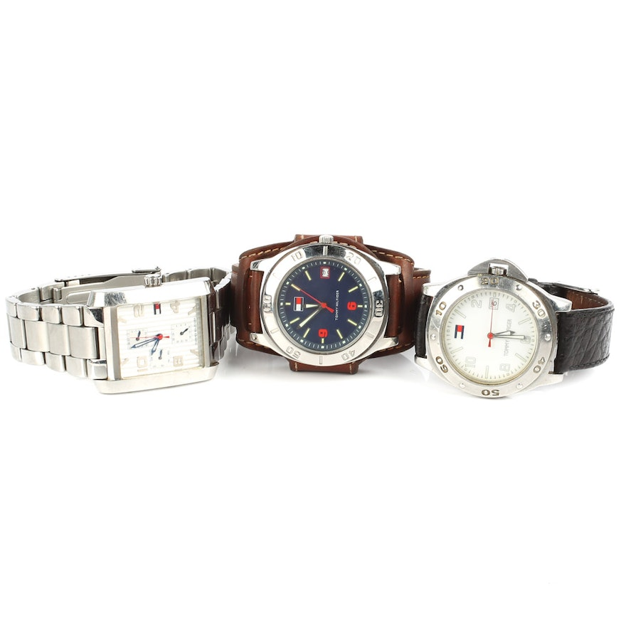 9e29005a21c8 Stainless Steel Fashion Watches by Tommy Hilfiger   EBTH