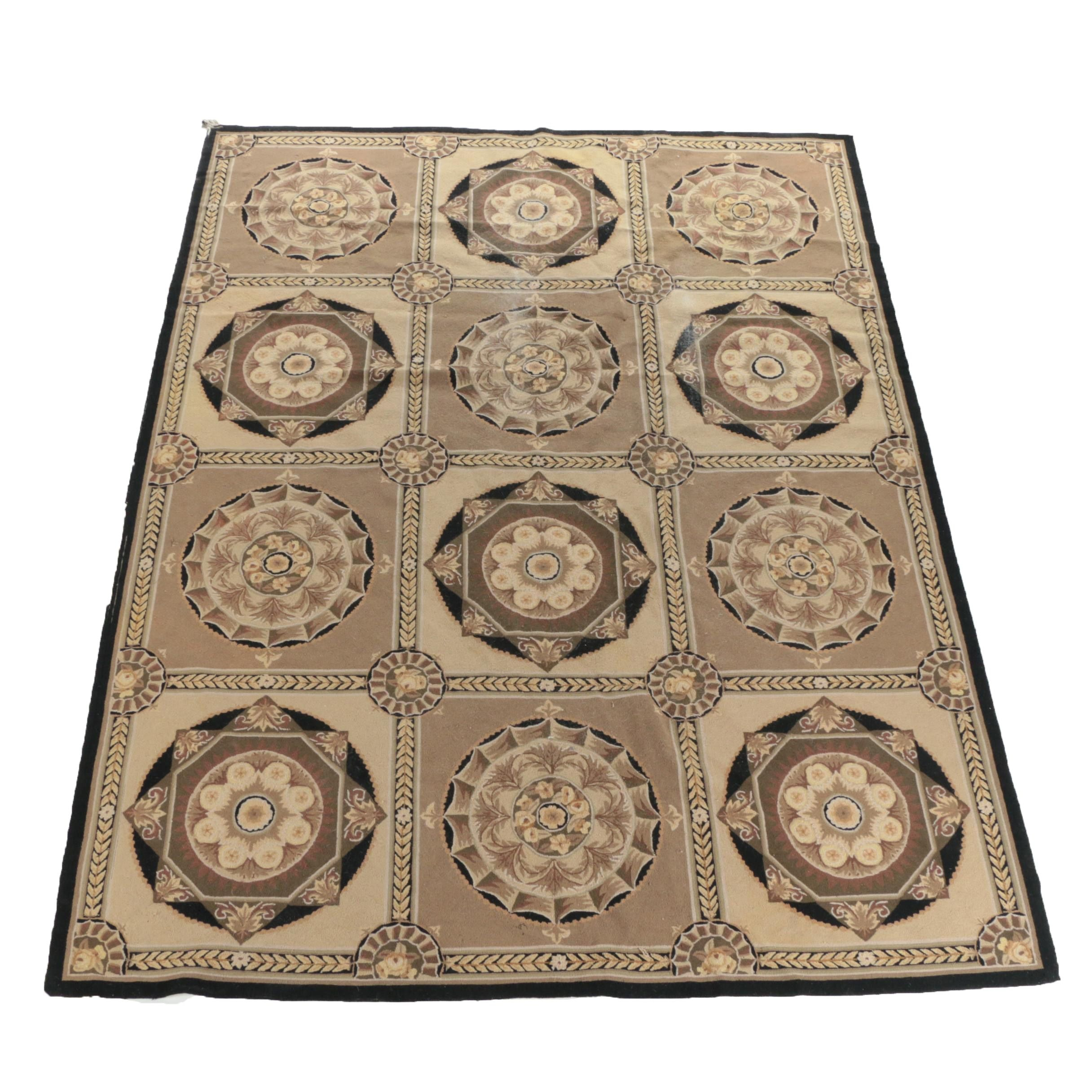 Hand-Tufted Chinese Wool Area Rug