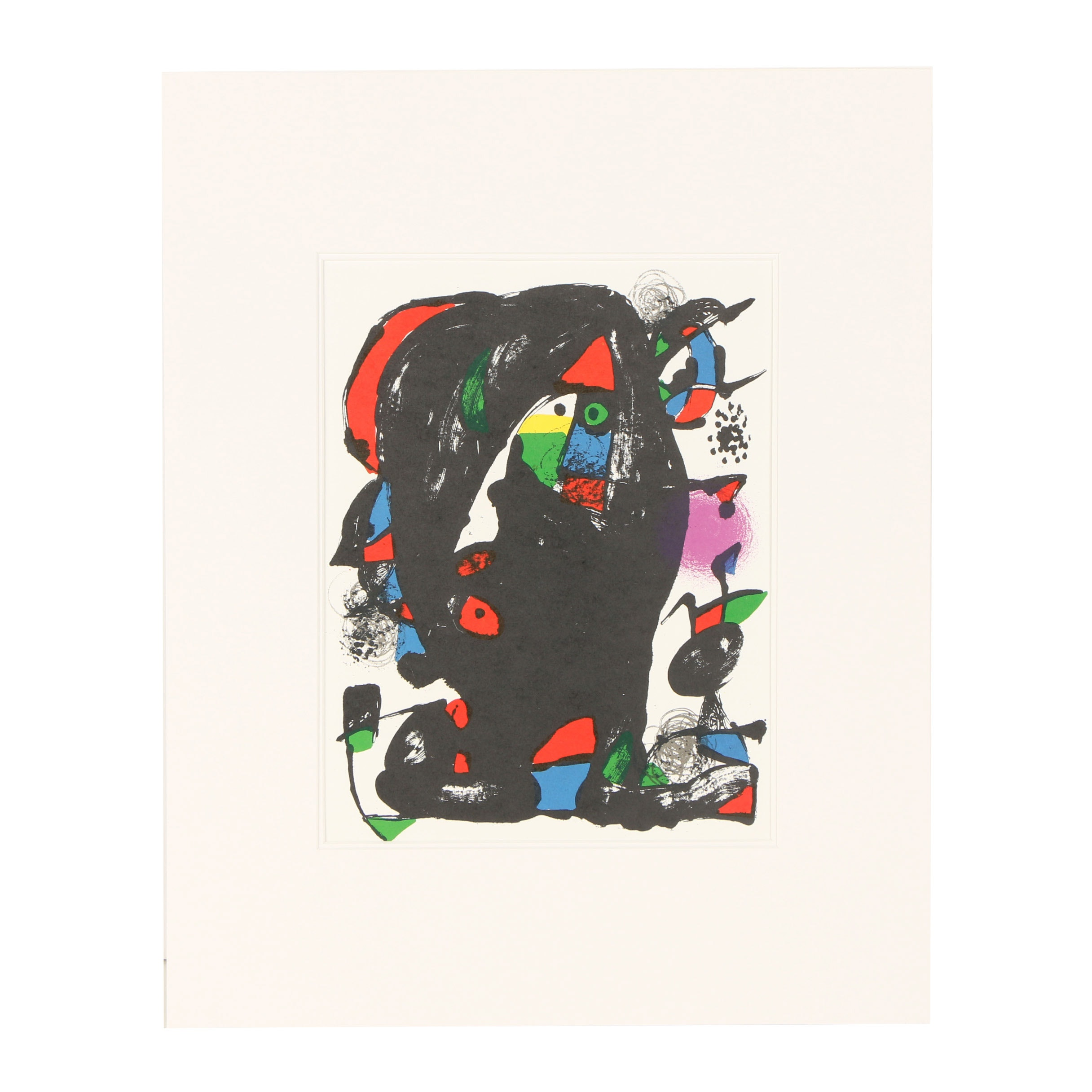 """Joan Miró Color Lithograph from """"Lithographs IV"""""""