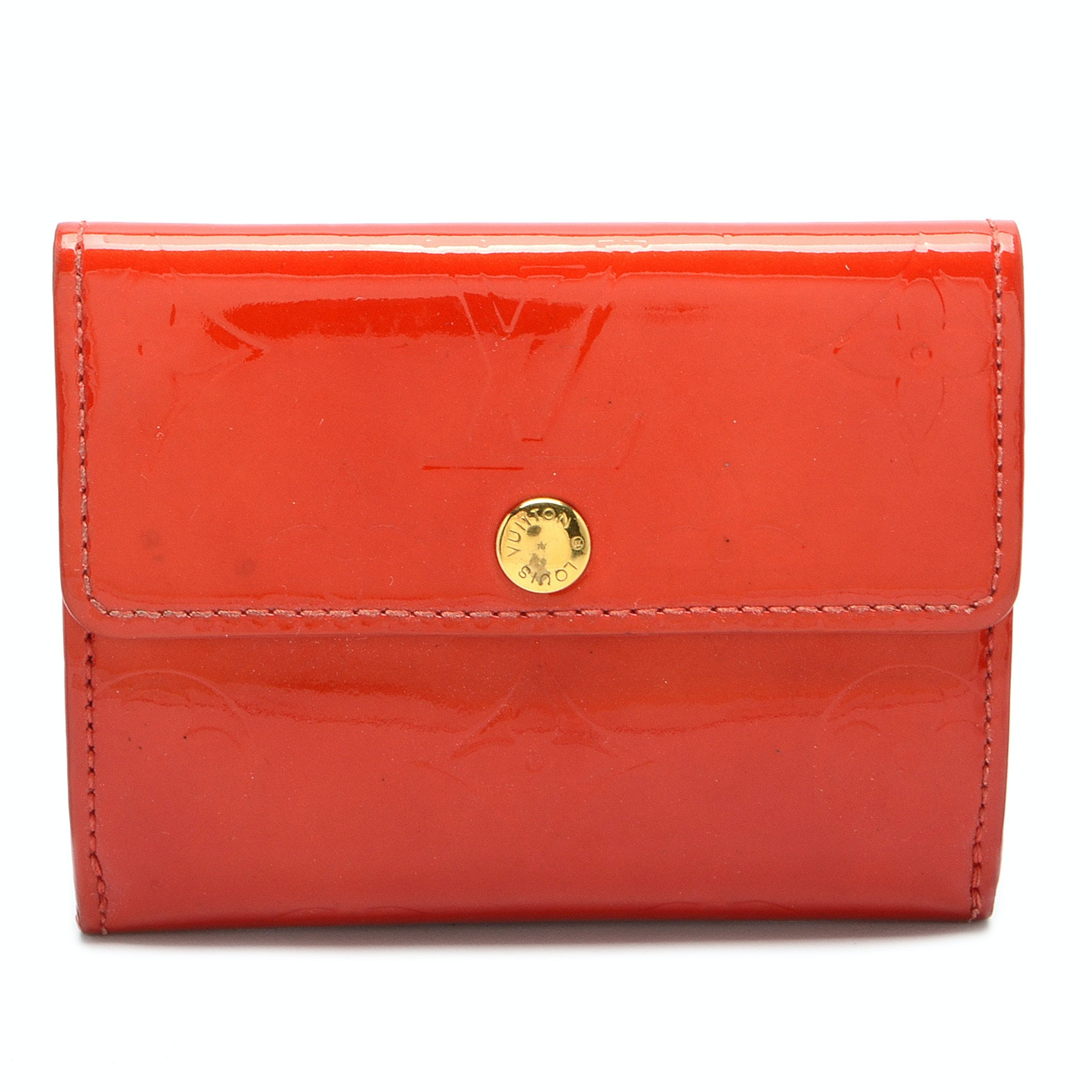 Louis Vuitton Red Patent Leather Wallet