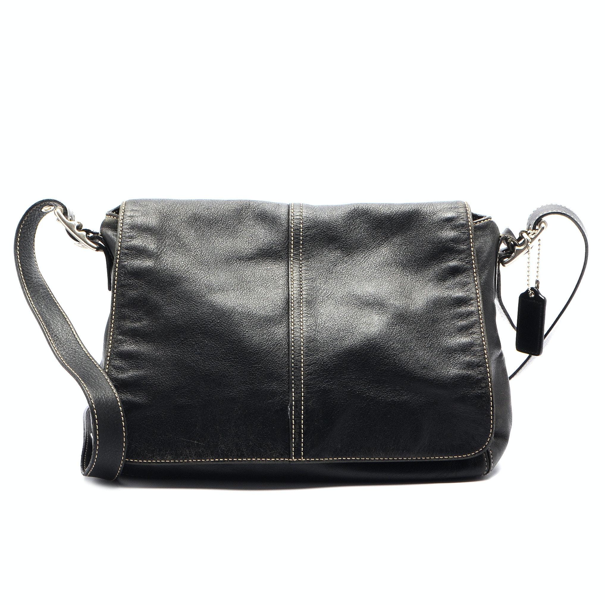 Coach Hampton's Flap Handbag