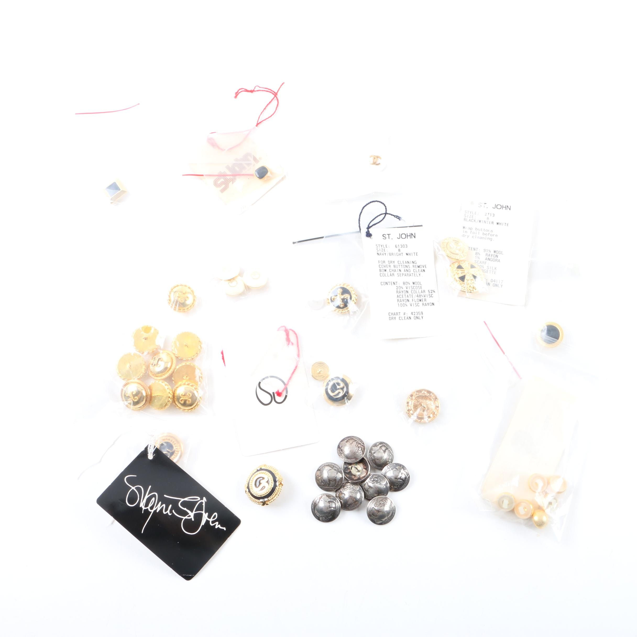 Buffalo Nickel Buttons and Other Buttons