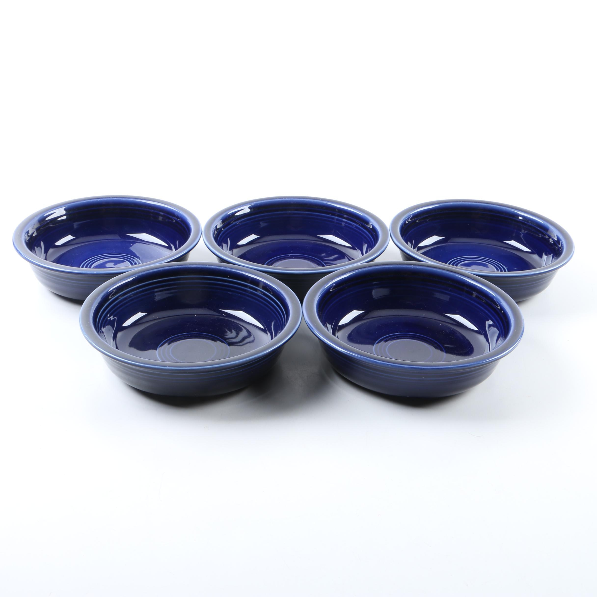 Homer Laughlin Co. Cobalt  Blue Fiesta Bowls
