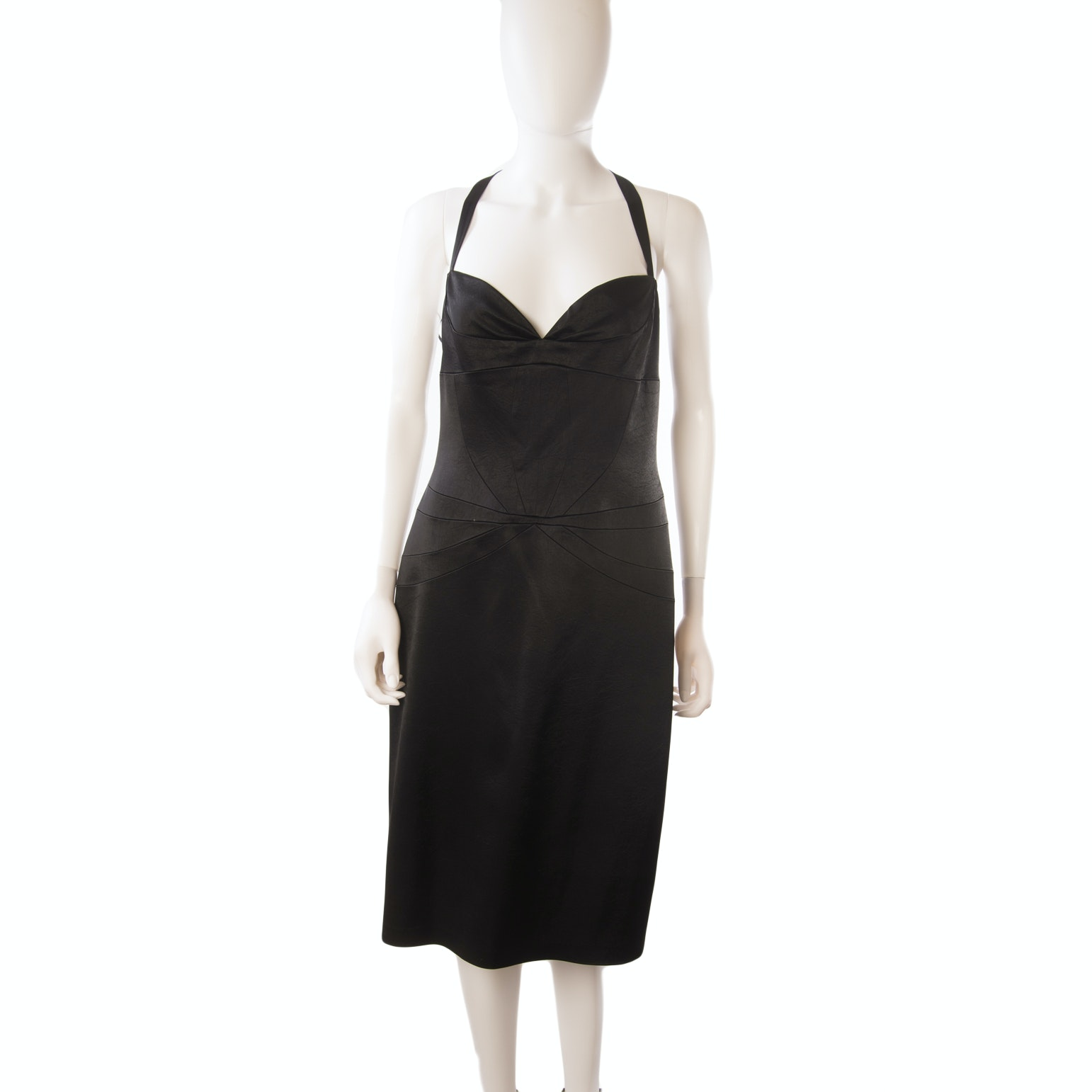 Laundry by Design Black Sleeveless Cocktail Dress