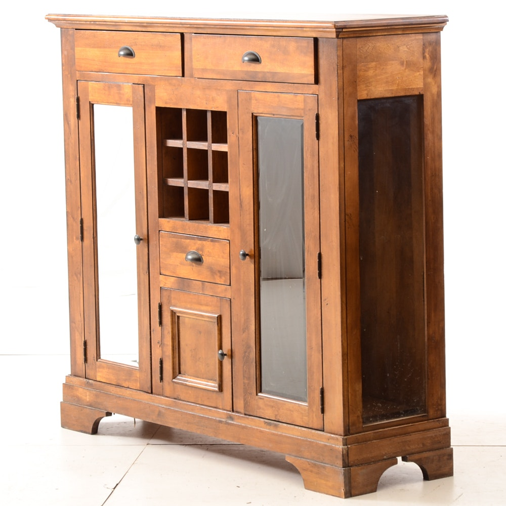 Contemporary Arts and Crafts Style Tall Buffet