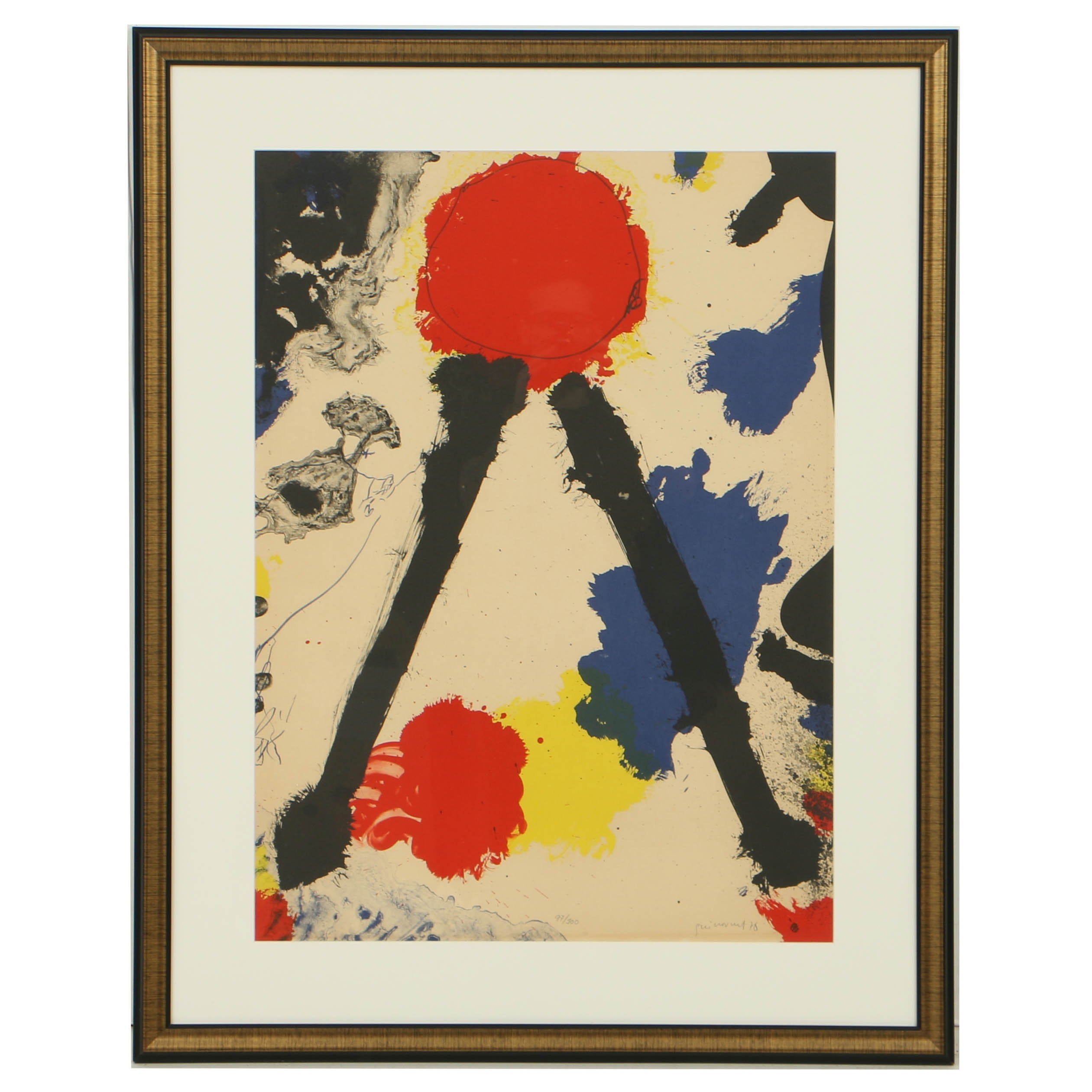 Josep Guinovart Limited Edition Lithograph on Paper