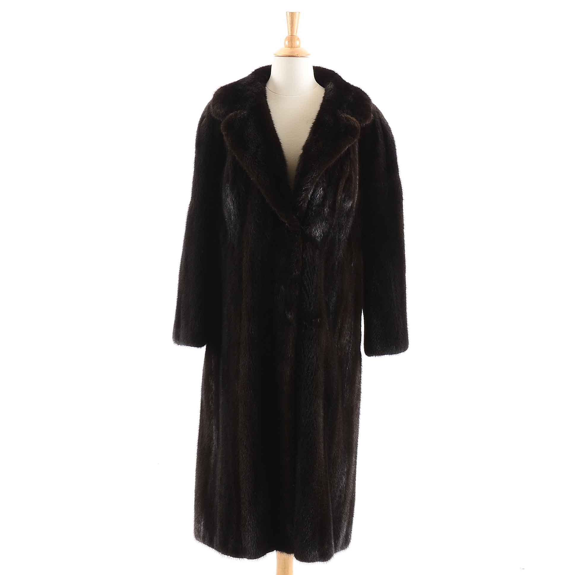 Full-Length Mink Fur Coat