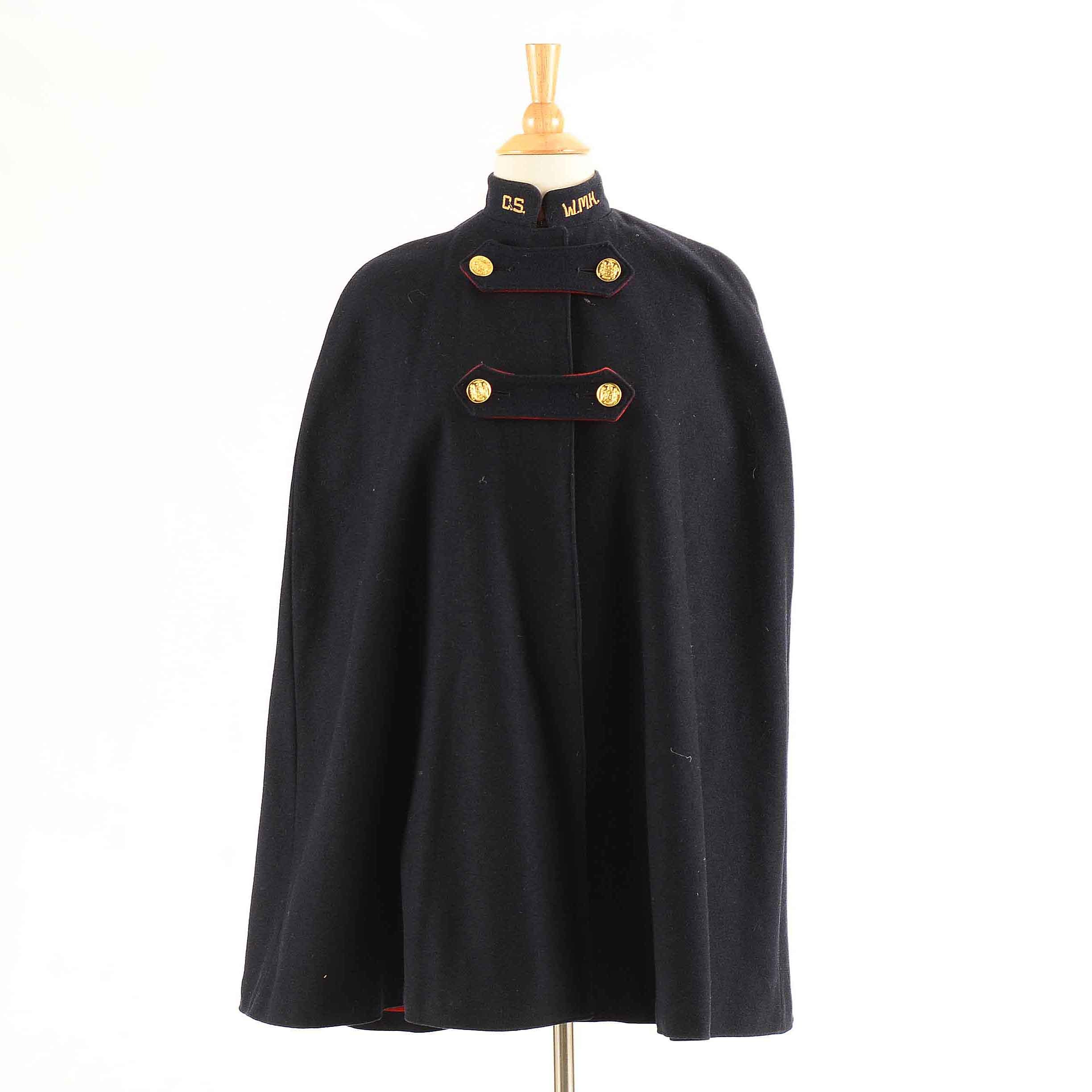 Women's WWII Nurse's Wool Cape