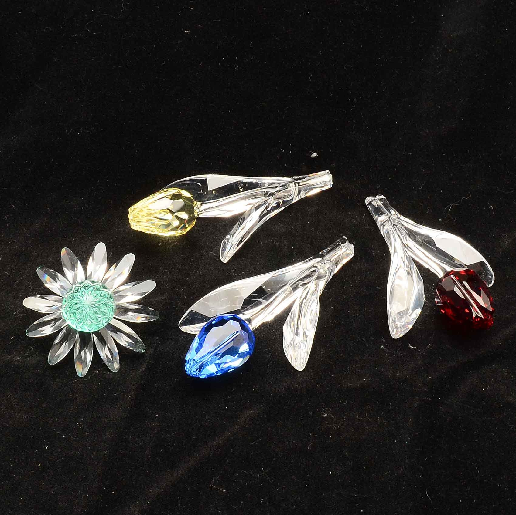 Swarovski Collectors Society Crystal Renewal Gift Flowers