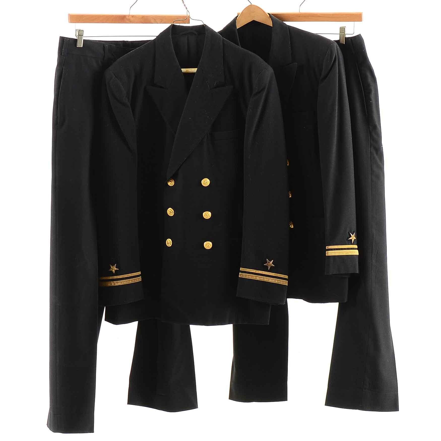 Men's Vintage Naval Uniforms