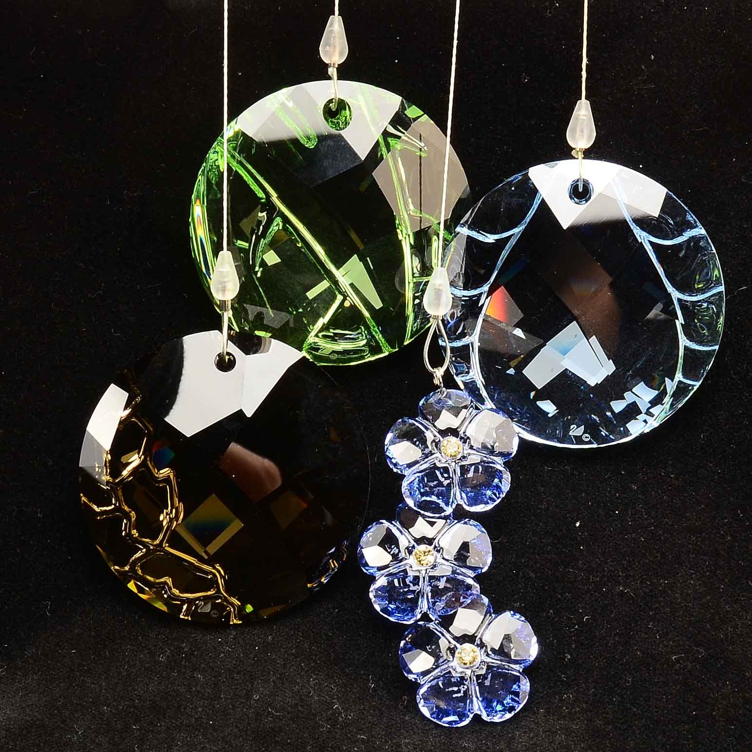 "Swarovski Crystal ""9100"" Sun Catchers"