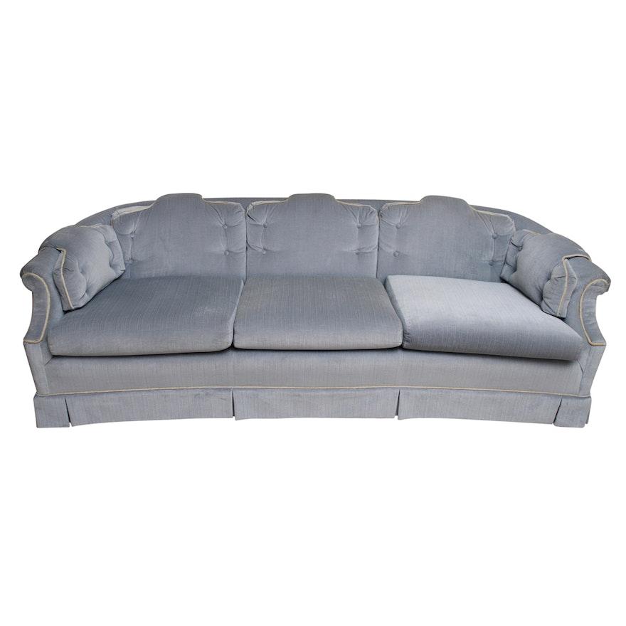Vintage Upholstered Sofa By Burlington Furniture