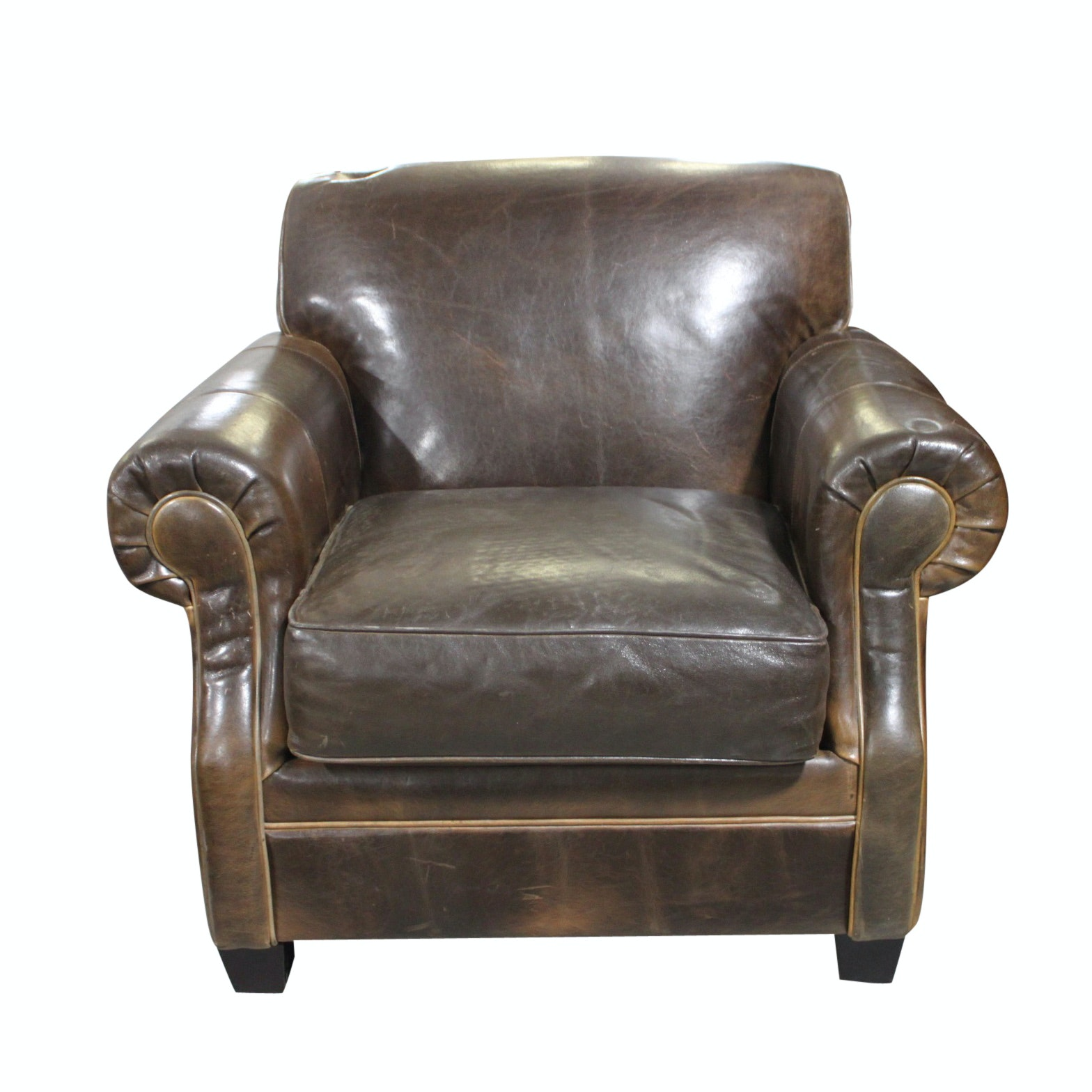 Leather Armchair by Arhaus Furniture