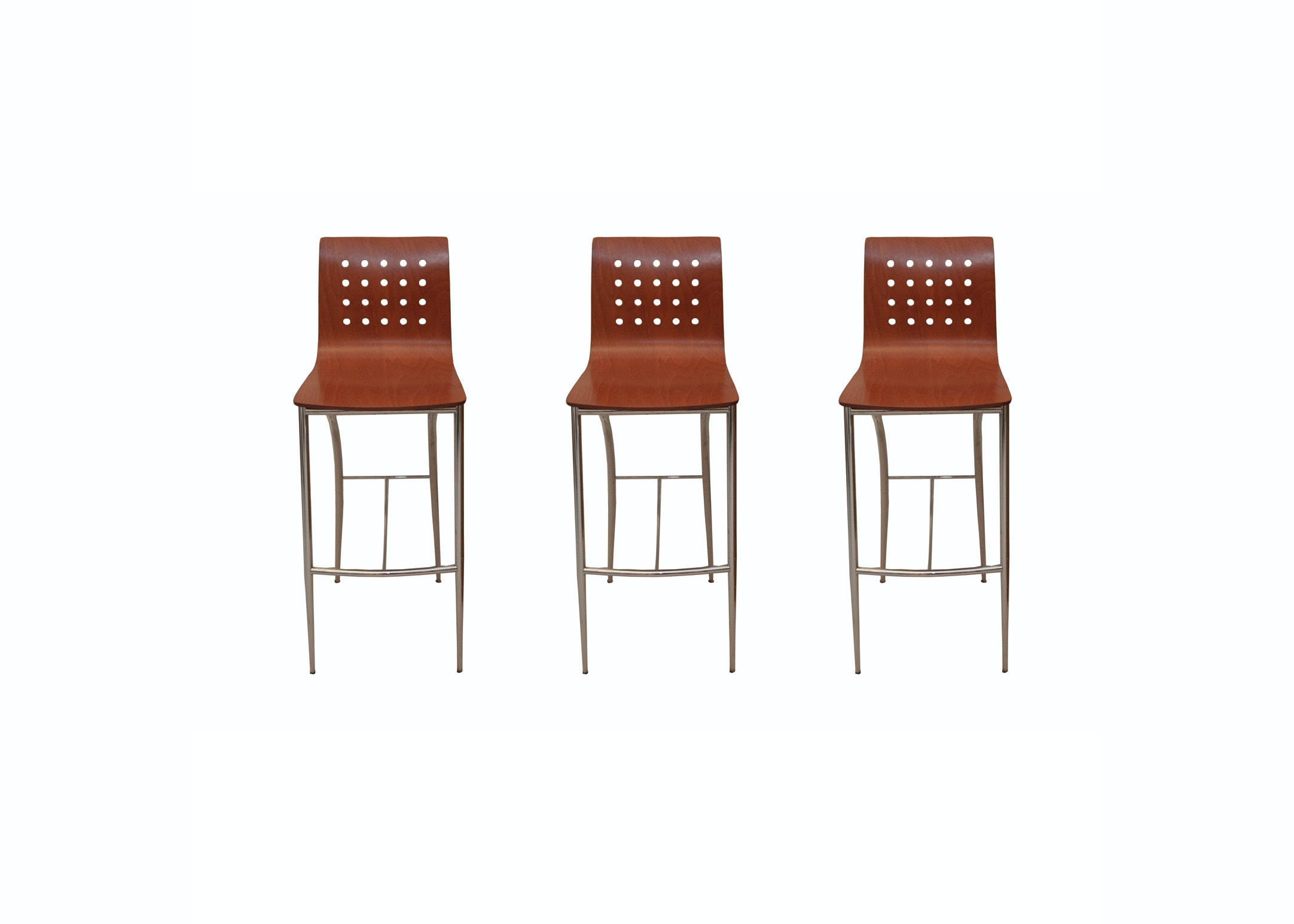 Set of Modern Style Counter Stools
