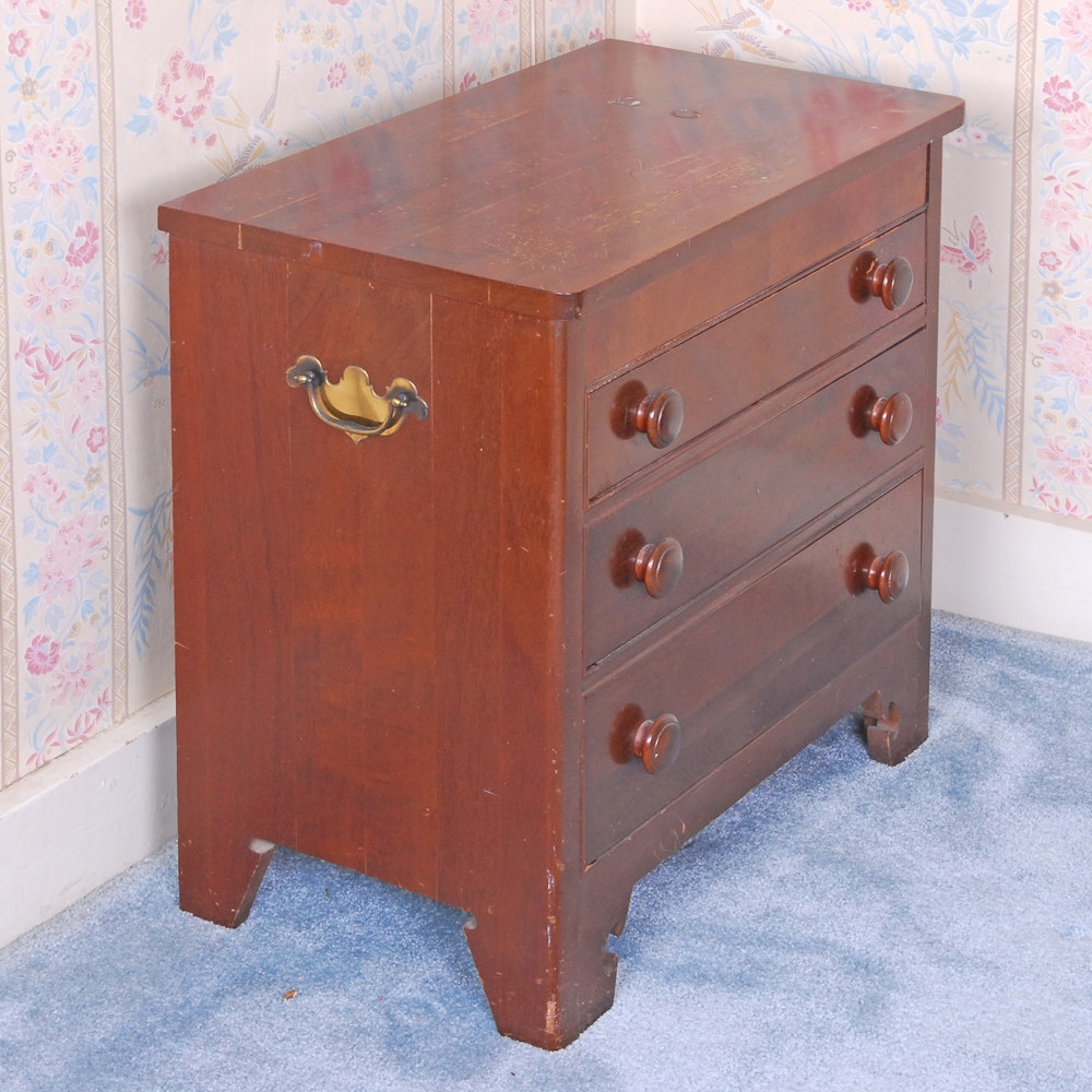 Vintage Chippendale Style Chest