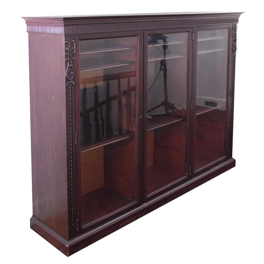Vintage Bookcase Cabinet