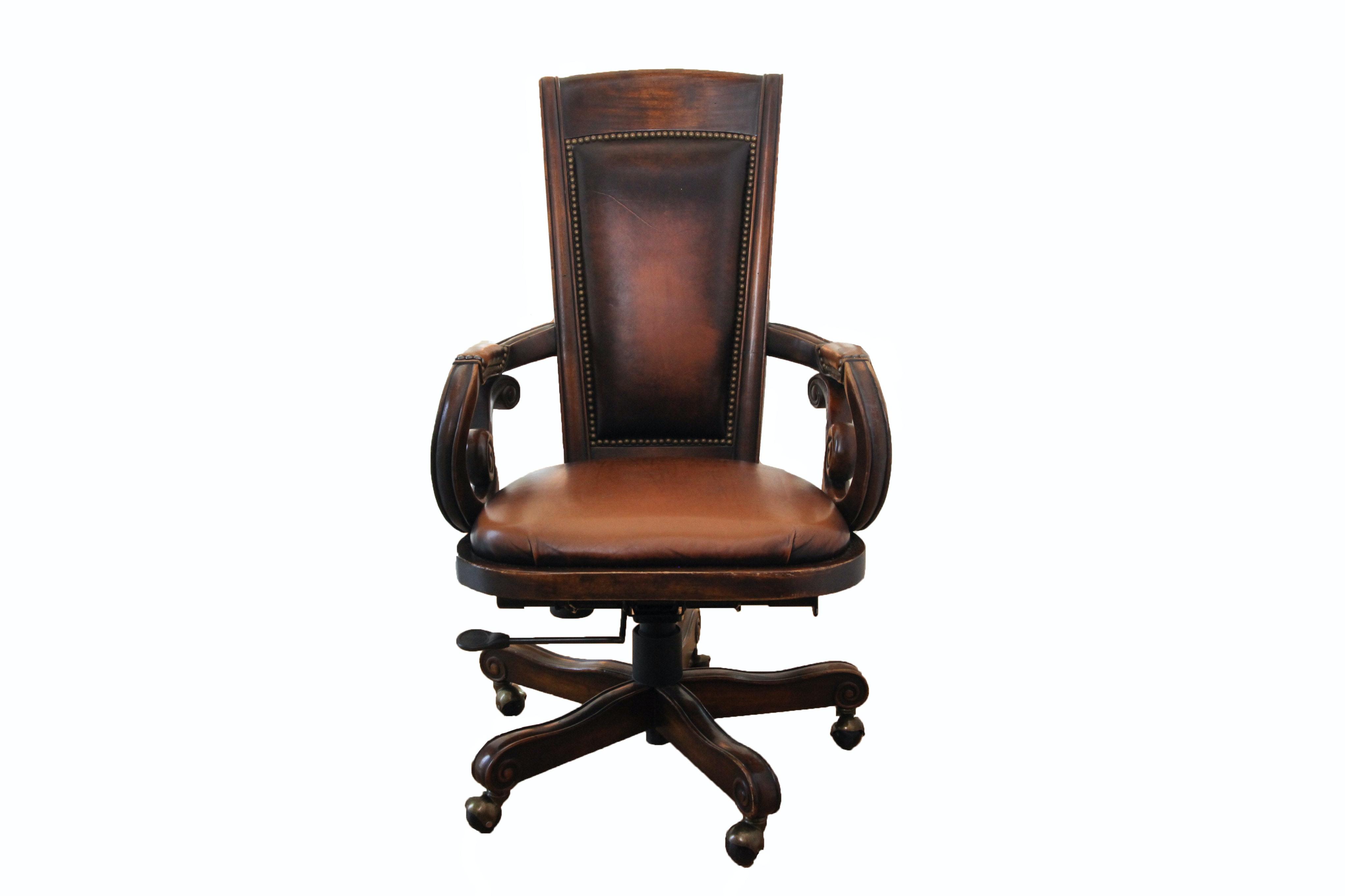 Regency Style Rolling Office Chair