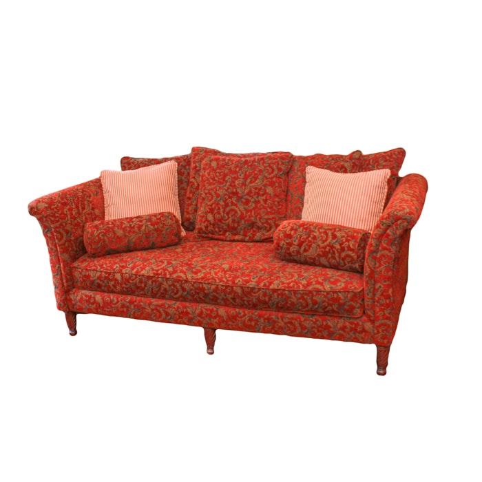 "Print Upholstered ""New Vintages"" Sofa by Bernhardt"