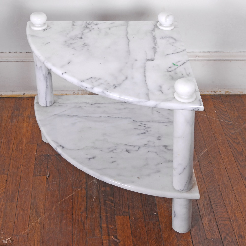 Marble Corner Stand